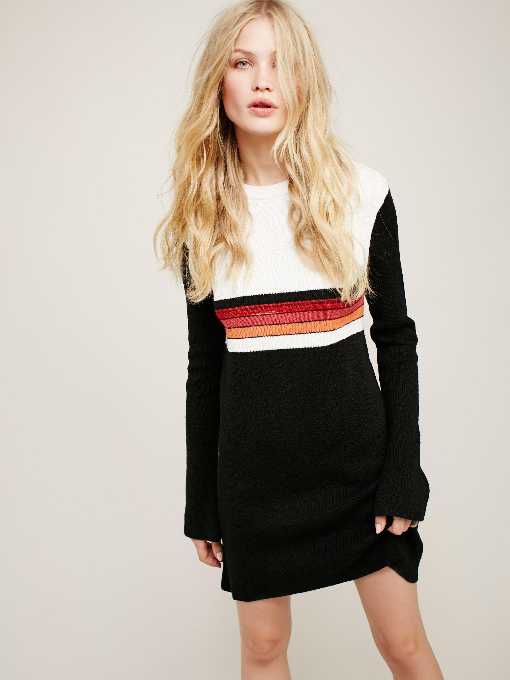 Lyst Free People Colorblock Swit Mini Dress