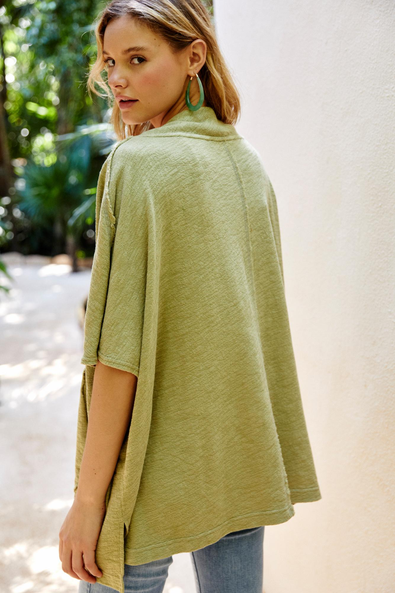 b0757911cf13 Free People - Green Pipeline Pullover By Fp Beach - Lyst. View fullscreen