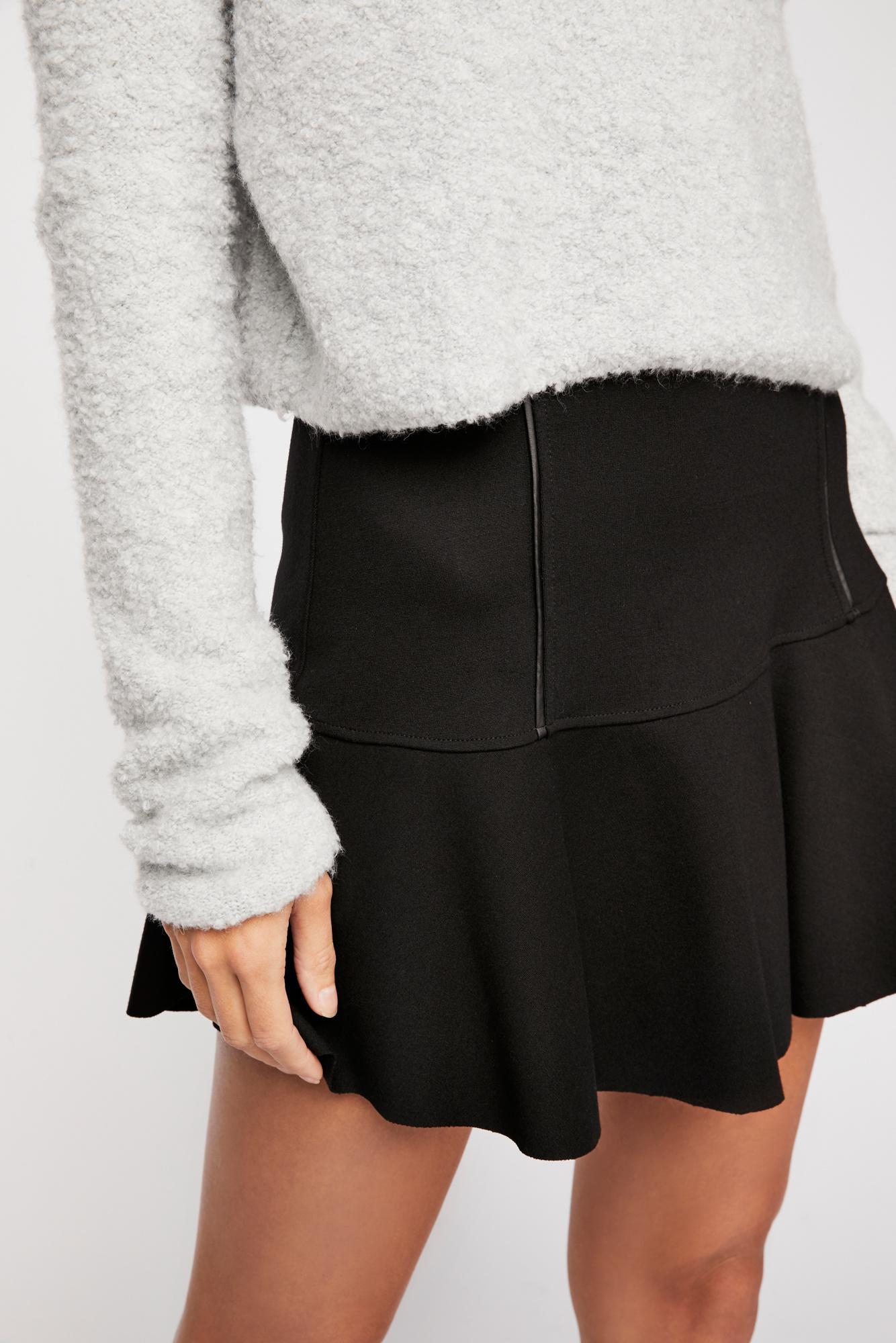 Free PeopleHighlands MiniskirtBlack