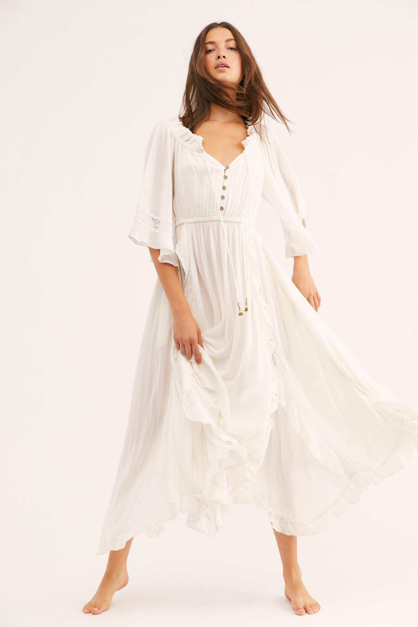 Free People Synthetic Beach Bliss Maxi Dress By Endless