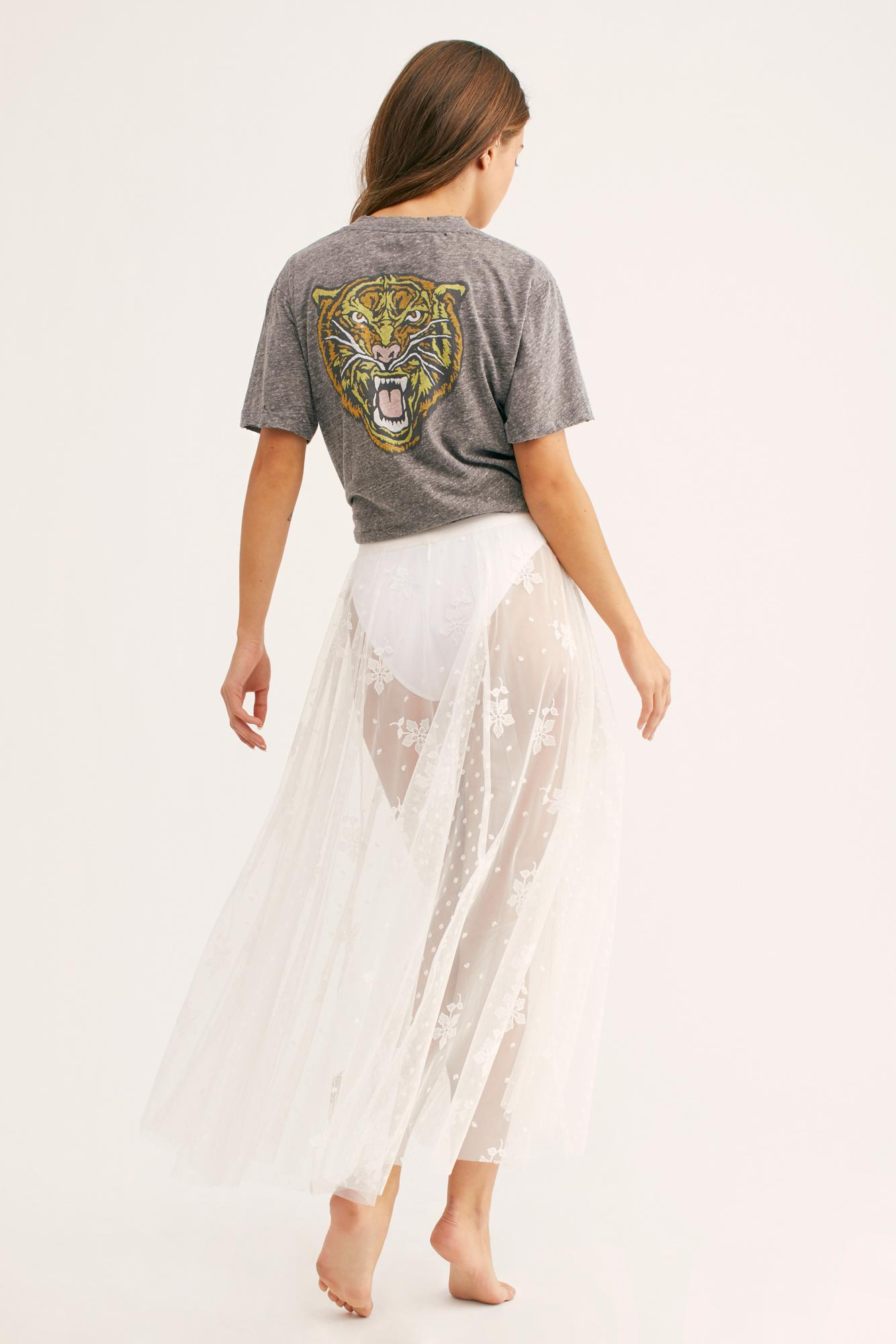 f51c3f7f8c ... White Spring Fever Embroidered Half Slip By Intimately - Lyst. View  fullscreen