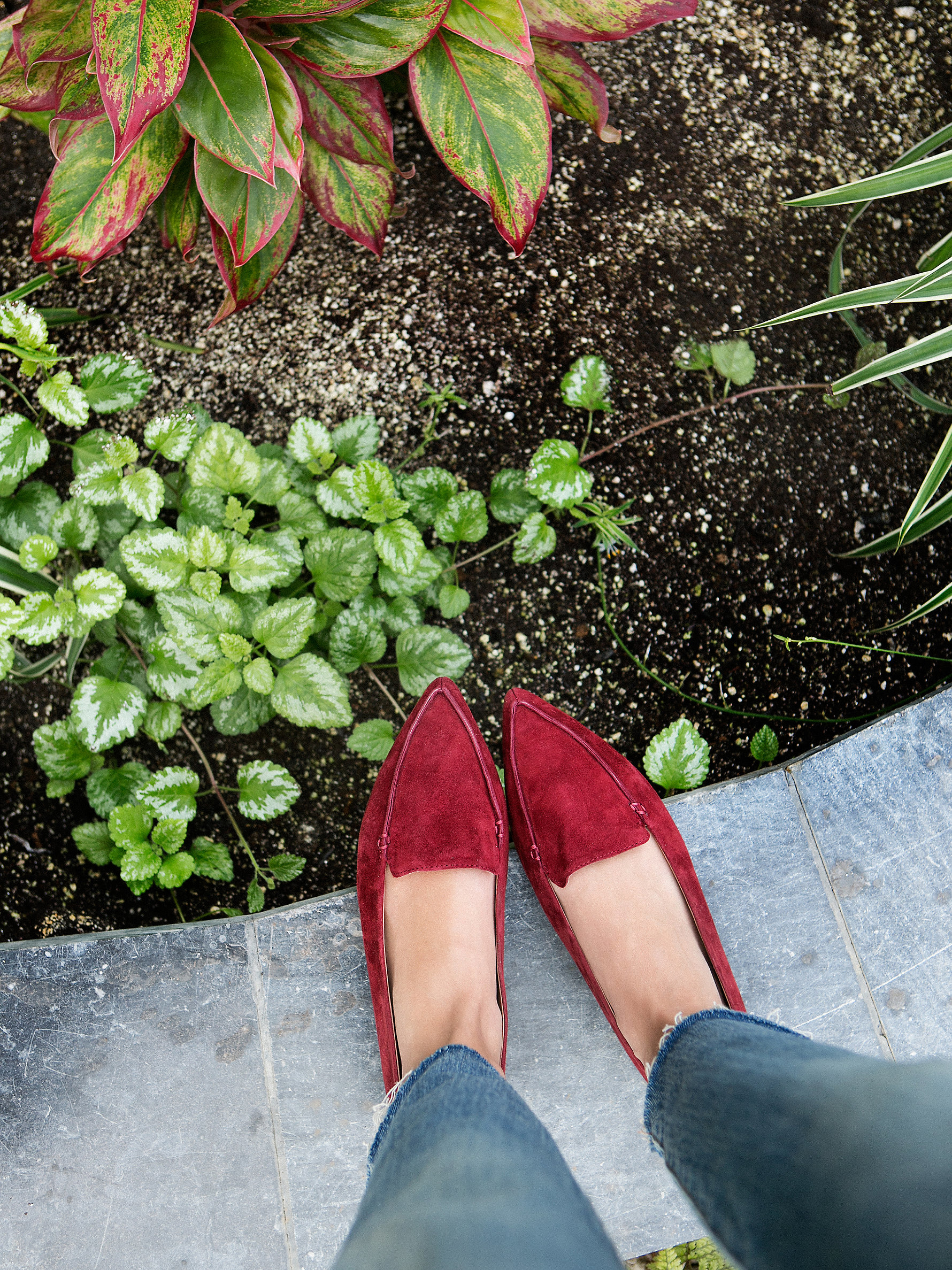 Lyst Free People Lakeside Loafer In Red