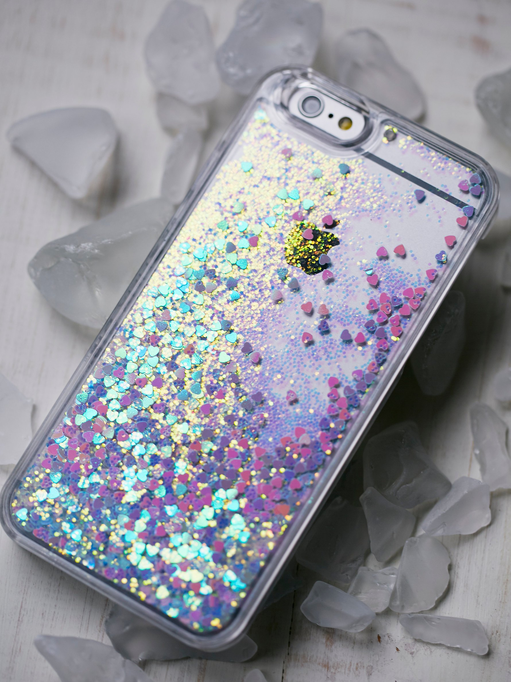 free people iphone case lyst free liquid glitter iphone in pink 5941