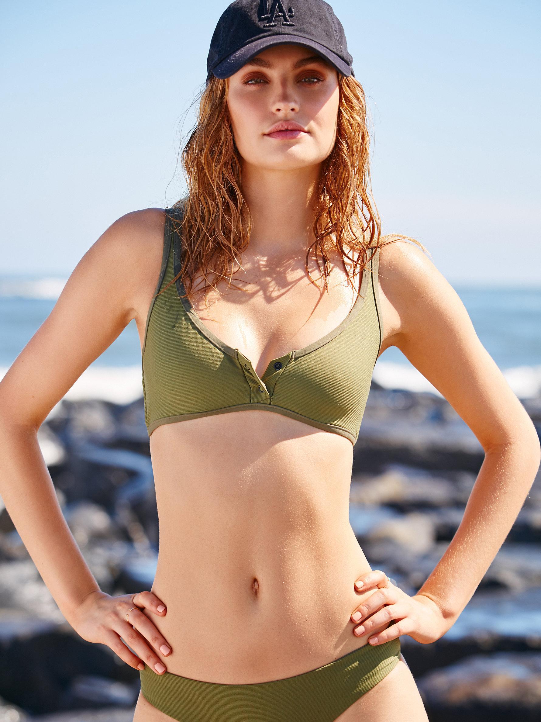 ac27fd436db45 Free People Marlowe Bikini Top Ali Bikini Bottom - Lyst