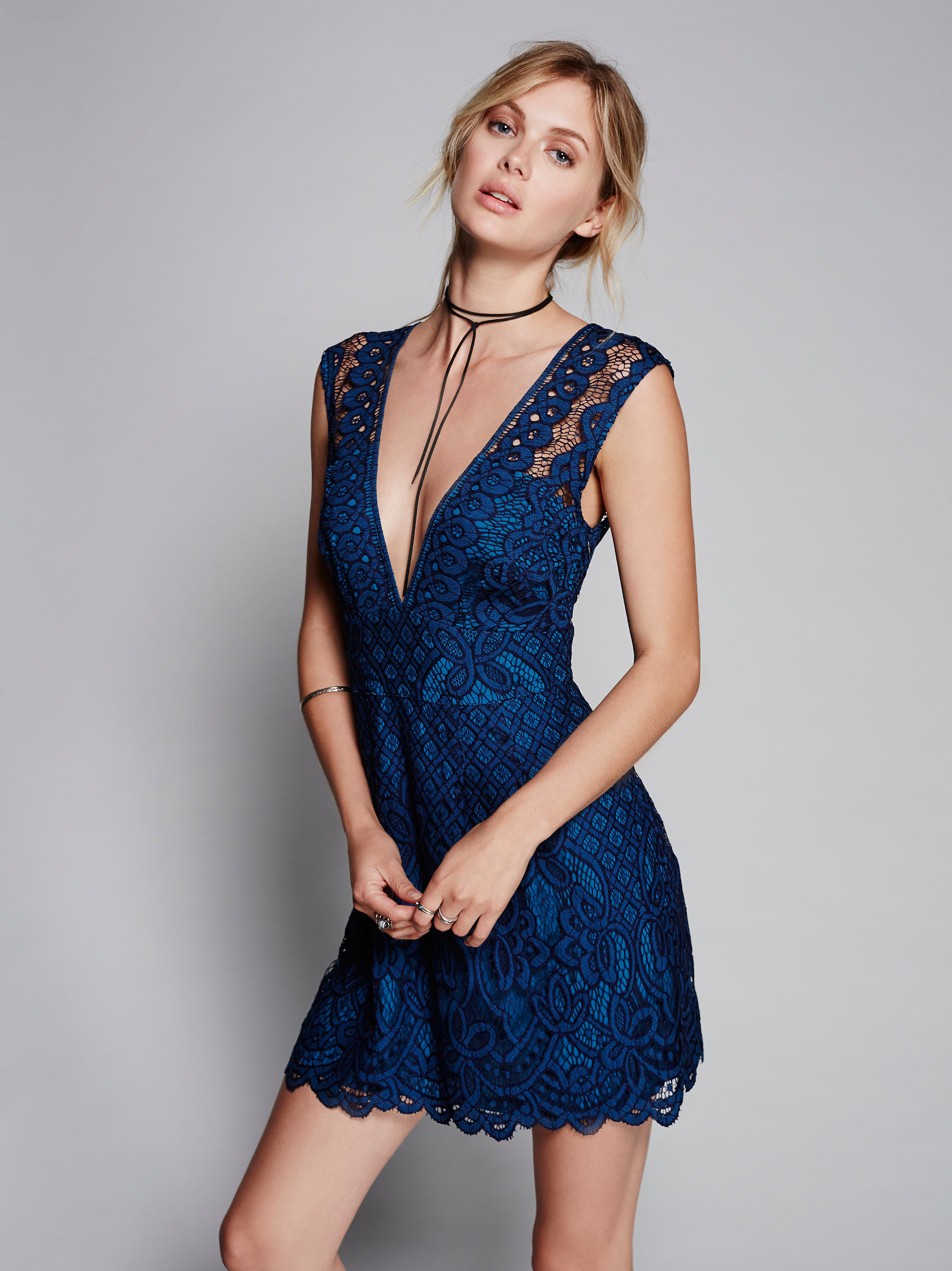 Sapphire Mini Dress