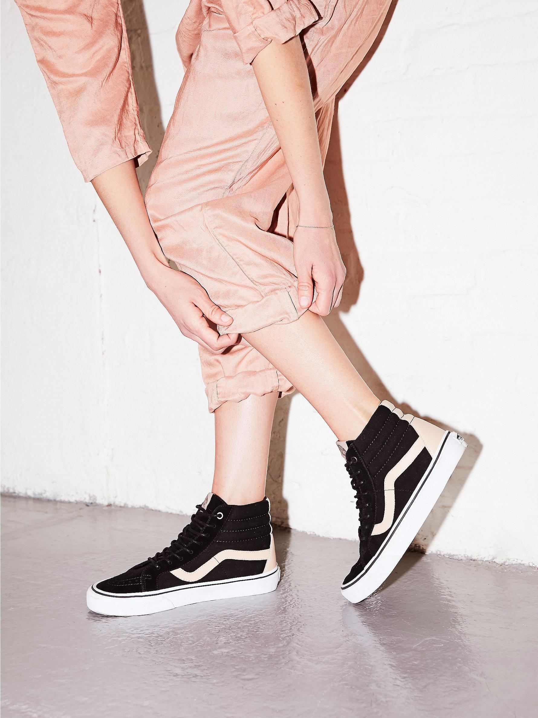 0cf44078 Free People Black Sk8-hi Reissue Veggie Tan Sneaker