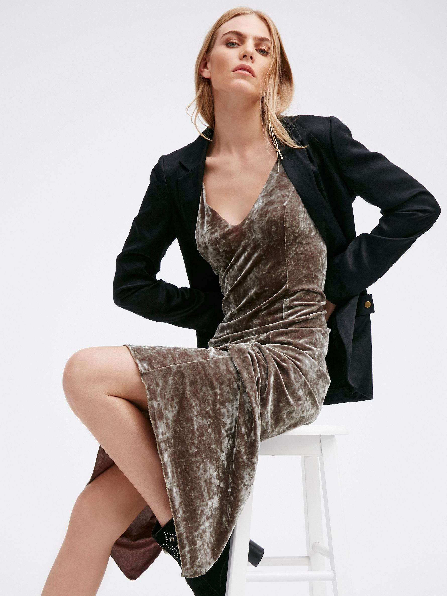 Velvet lengths maxi dress free people