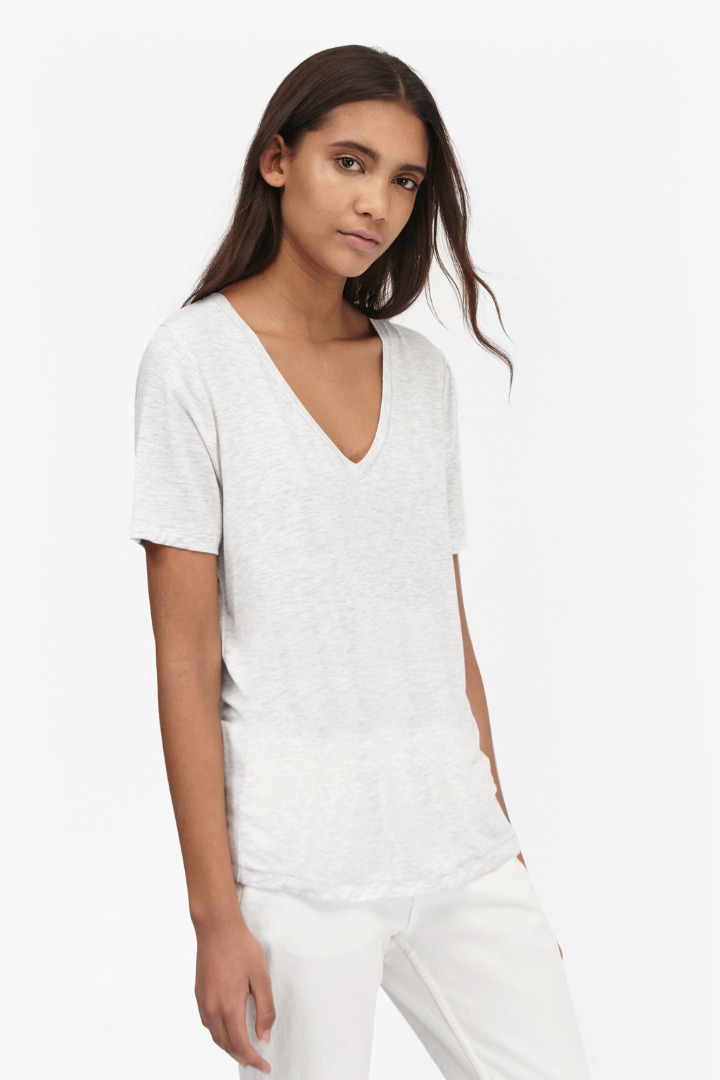 French connection marley jersey short sleeves t shirt in for French connection t shirt dress