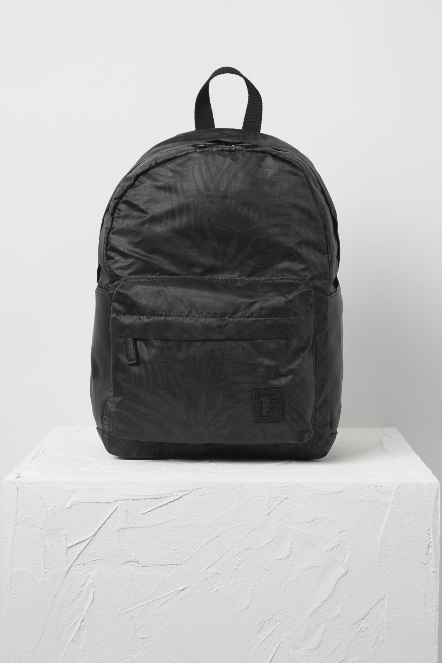 356e534686 Lyst - French Connection Printed Backpack in Black for Men