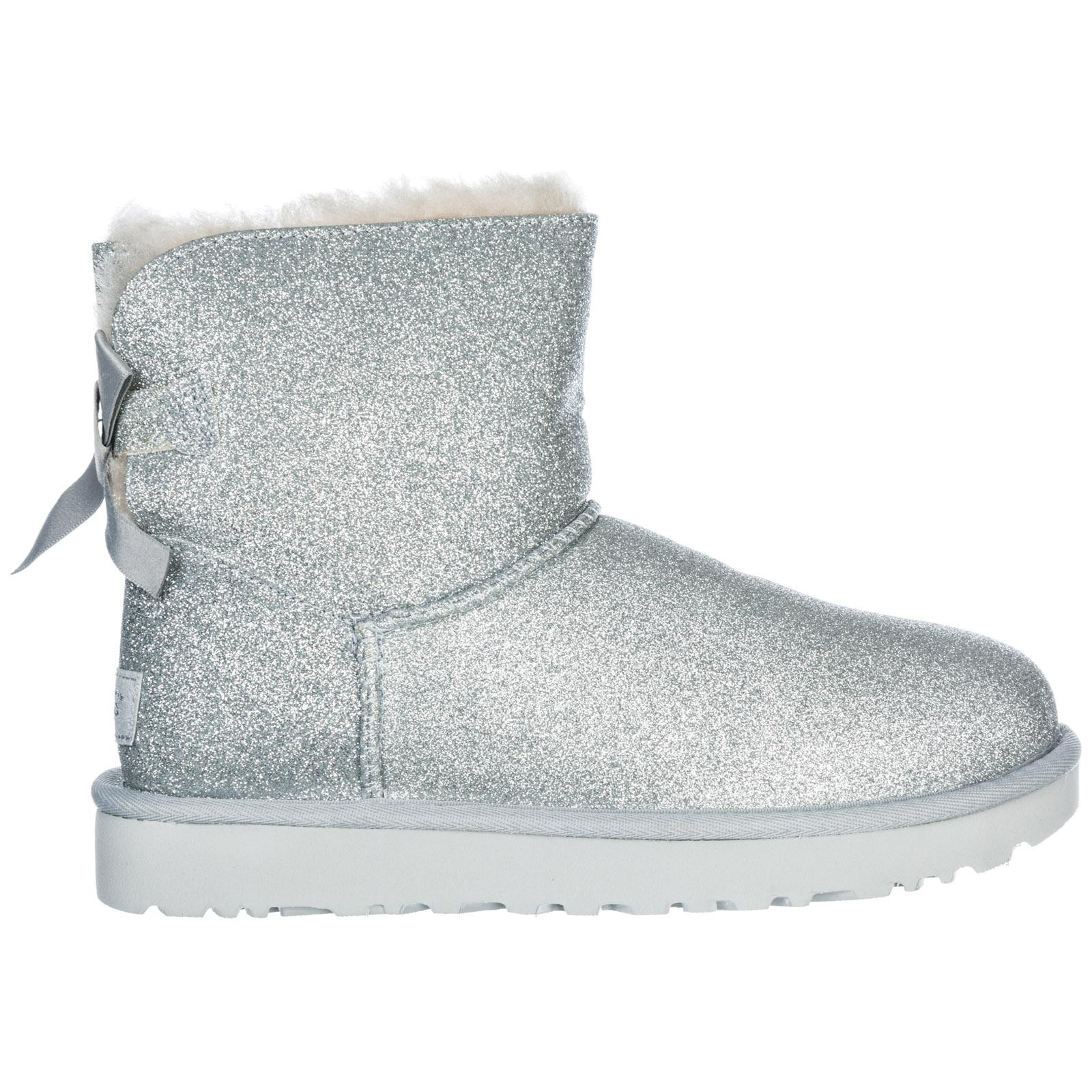 a099dd0e1fd Metallic Women's Boots Mini Bailey Bow Sparkle