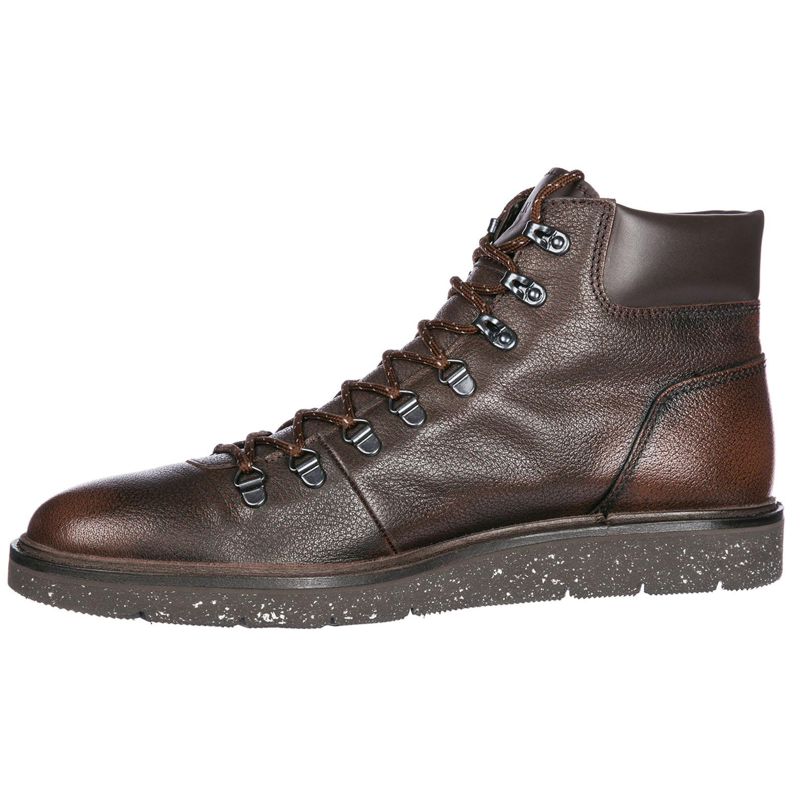 Hogan Genuine Leather Ankle Boots H334 Hiking in Brown for Men - Lyst