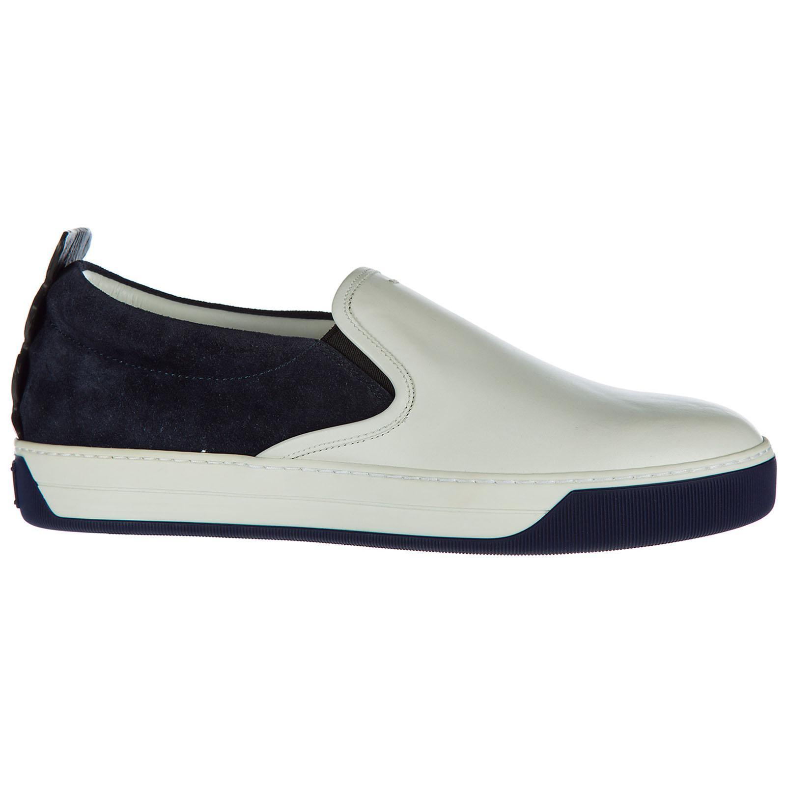 Fendi Suede Slip On Sneakers for Men