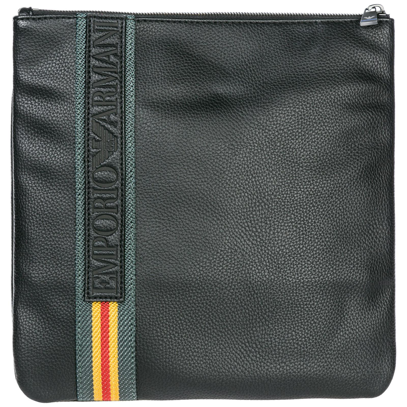 e897be66d304 Emporio Armani Cross-body Messenger Shoulder Bag in Black for Men - Lyst
