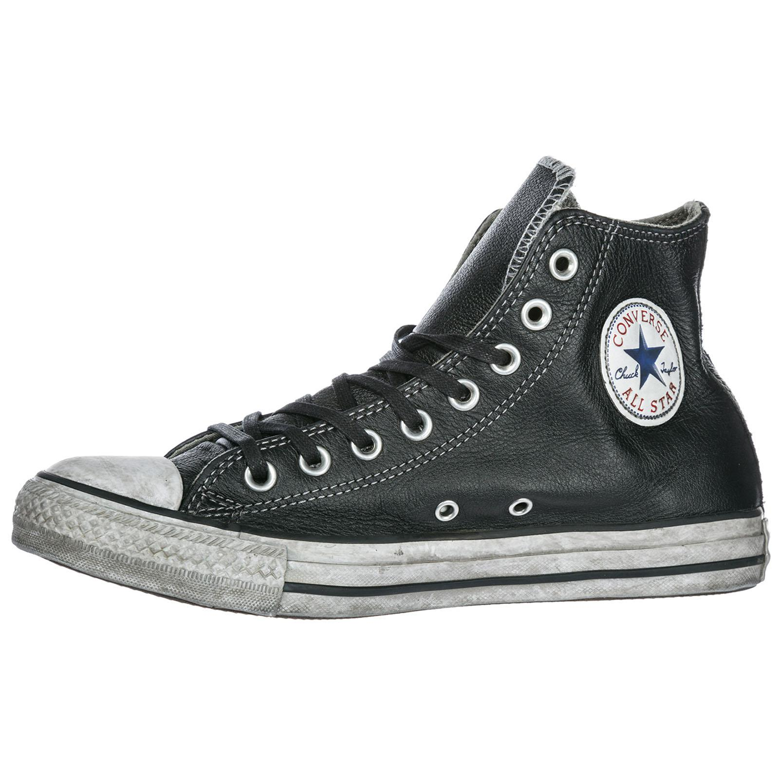 Converse Shoes High Top Leather Trainers Sneakers Limited Edition ...