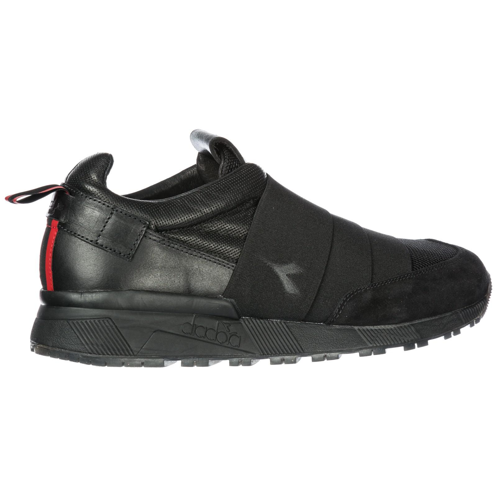 Diadora Leather Slip On Sneakers N9000