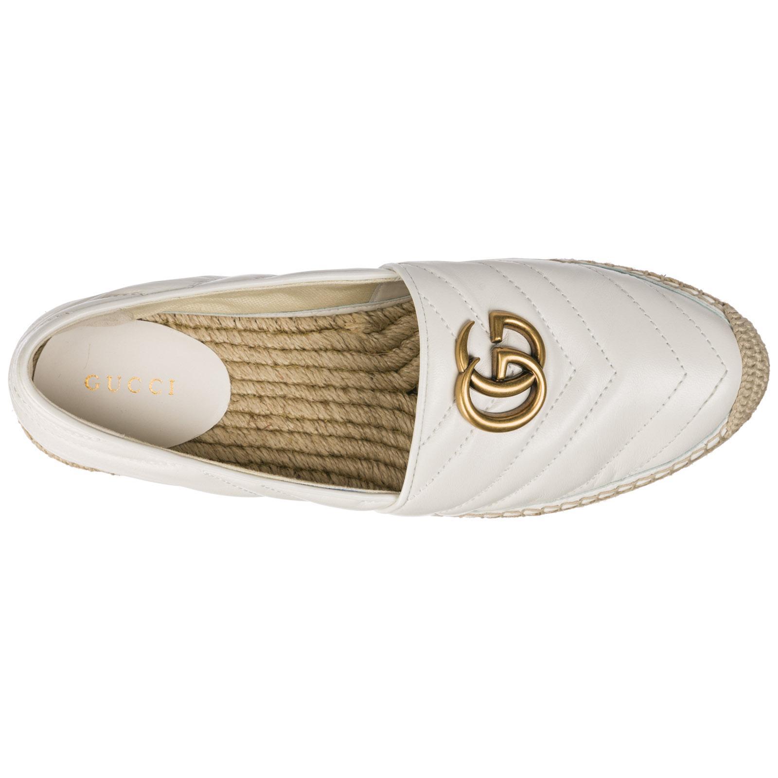 d6acfb49c2e Gucci - White Espadrilles Slip On Shoes - Lyst. View fullscreen