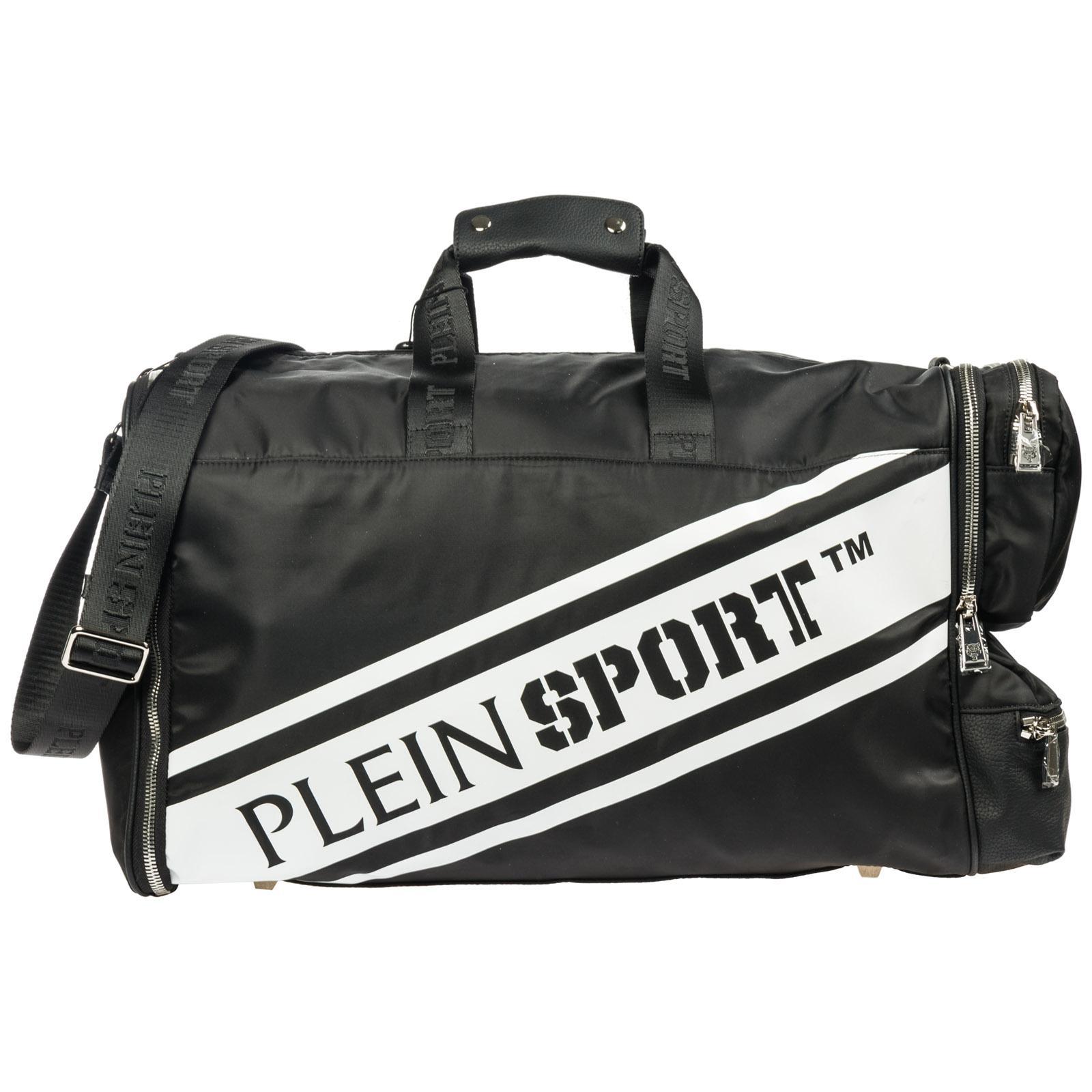c3da8407a5 Philipp Plein Travel Duffle Weekend Shoulder Bag Nylon in Black for ...