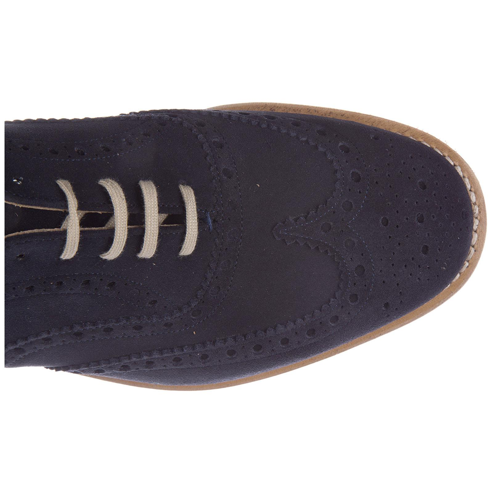 Church's Classic Suede Lace Up Laced Formal Shoes Downton in Blue for Men