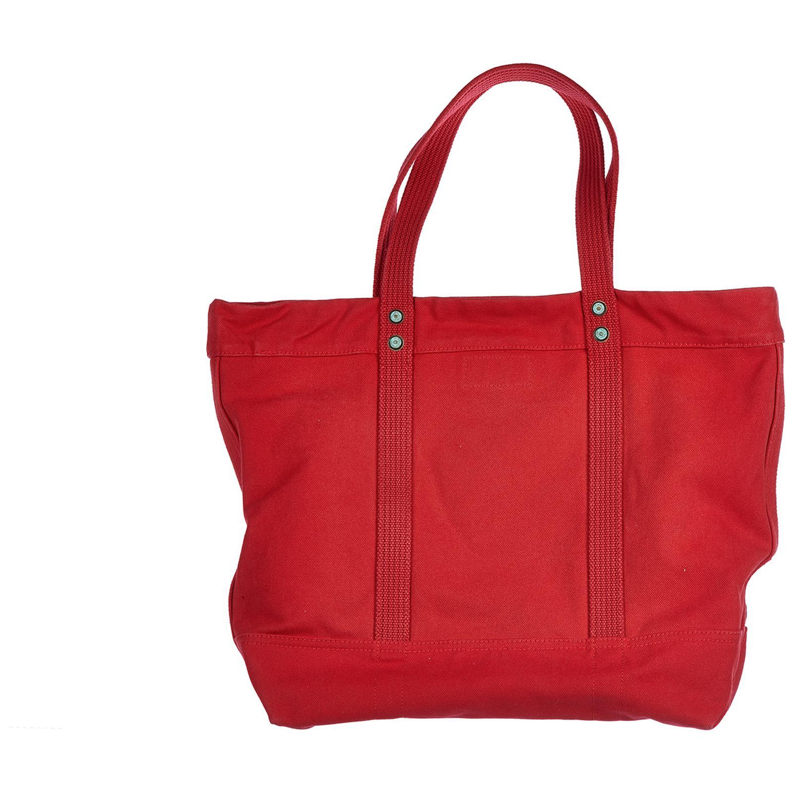 5611601953 Polo Ralph Lauren - Red Bag Handbag Shopping Tote Canvas for Men - Lyst.  View fullscreen