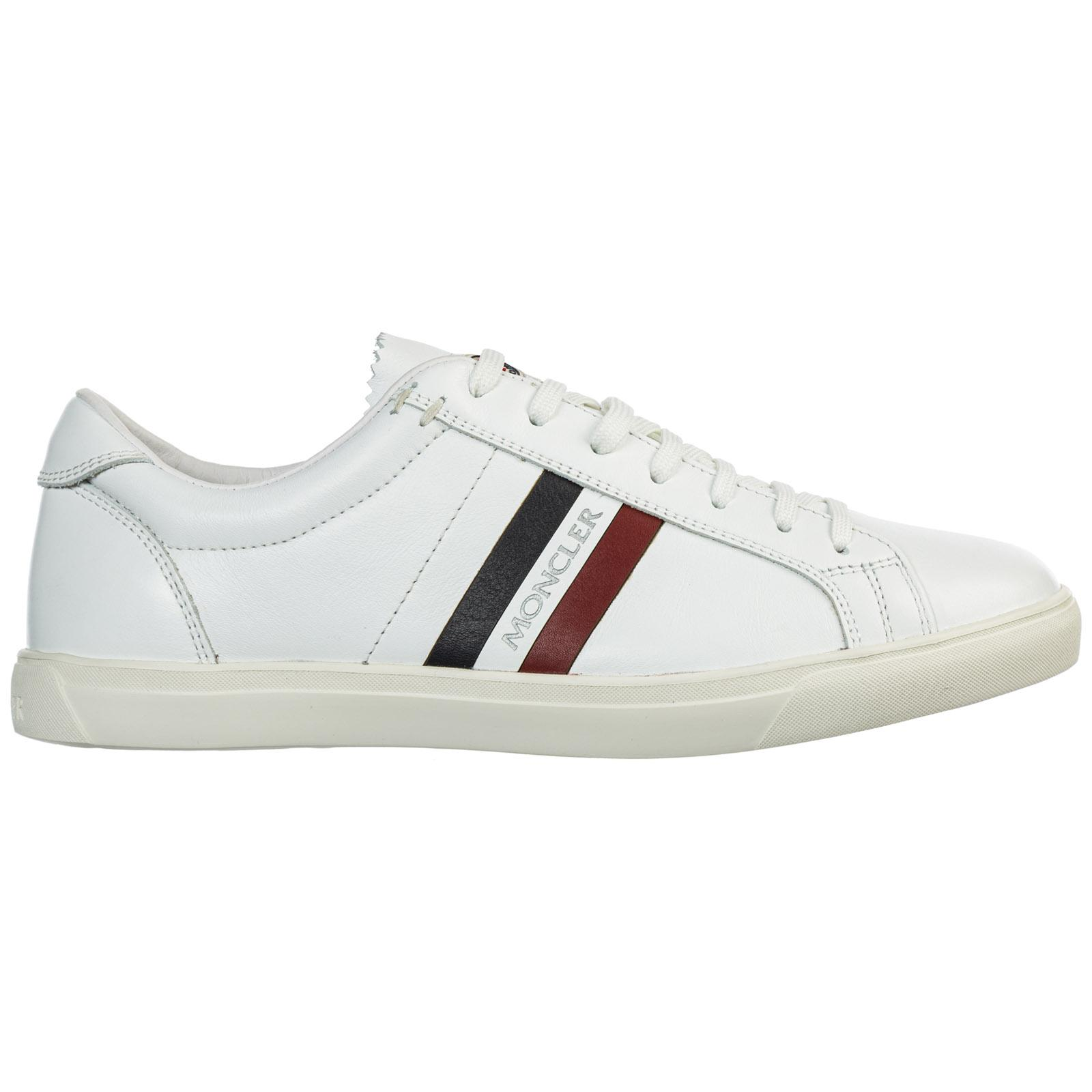 Moncler Men's Shoes Leather Trainers