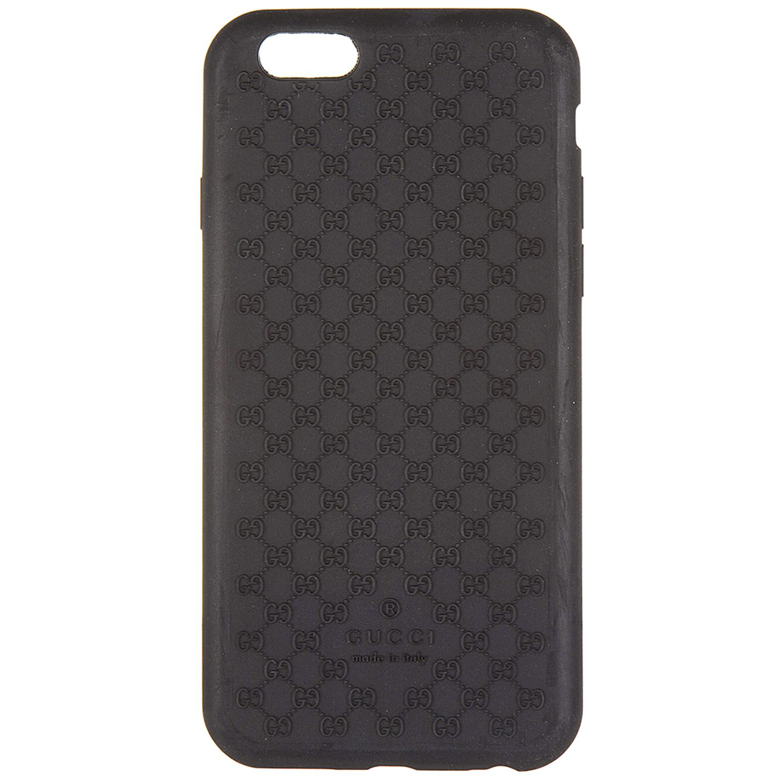 7555ca3c449fe Gucci Cover Case Iphone 6 6s In Soft Rubber in Black for Men - Lyst