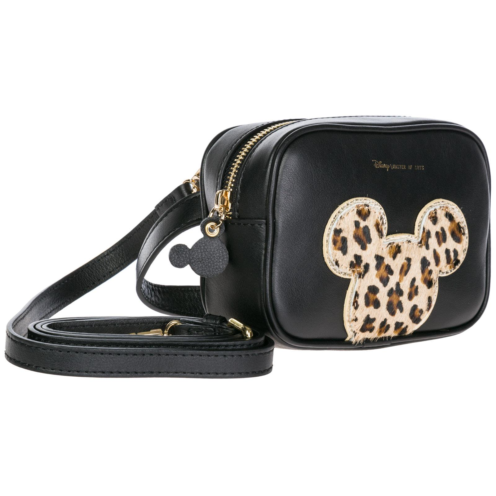 8dbc31bd8f0a MOA - Black Leather Belt Bum Bag Hip Pouch Disney Mickey Mouse - Lyst. View  fullscreen
