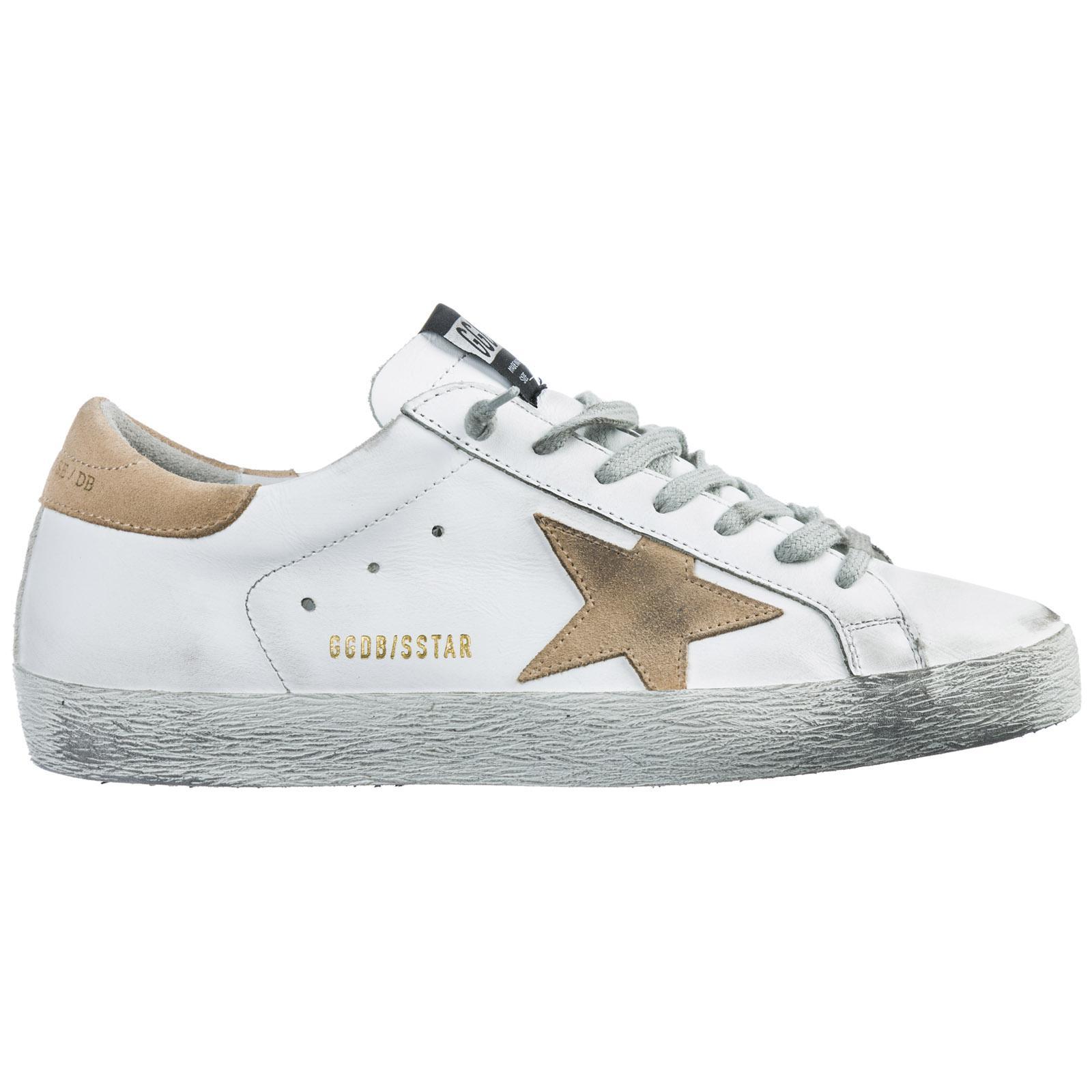 c7776c3c1b Golden Goose Deluxe Brand. Men's Shoes Leather Trainers Sneakers Superstar