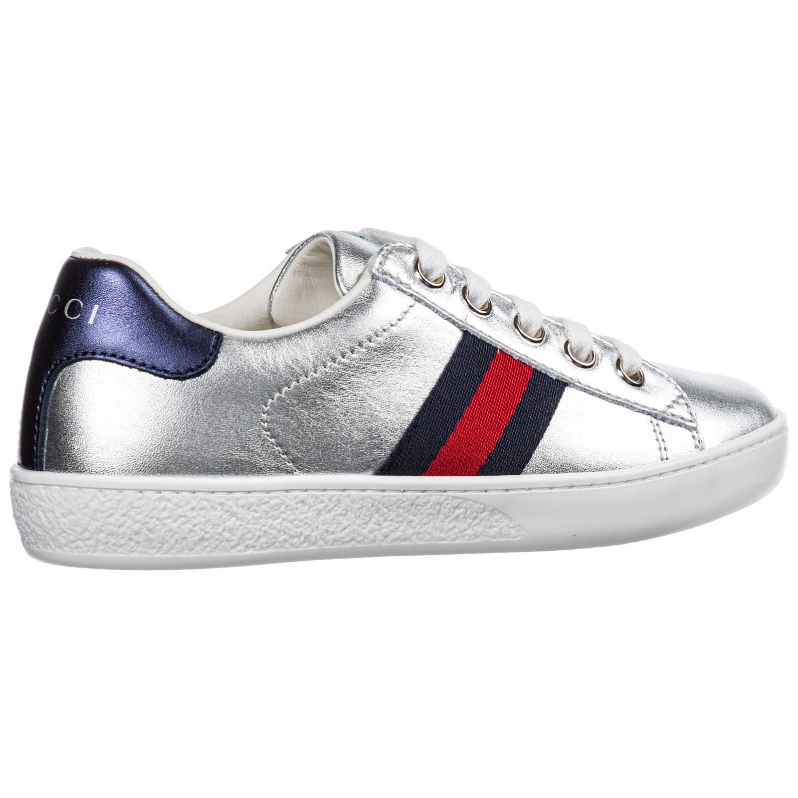hochwertiges Design Geschicktes Design modischer Stil Gucci Leather Babyschuhe Sneakers Kinder Baby Schuhe Mädchen Leder ...