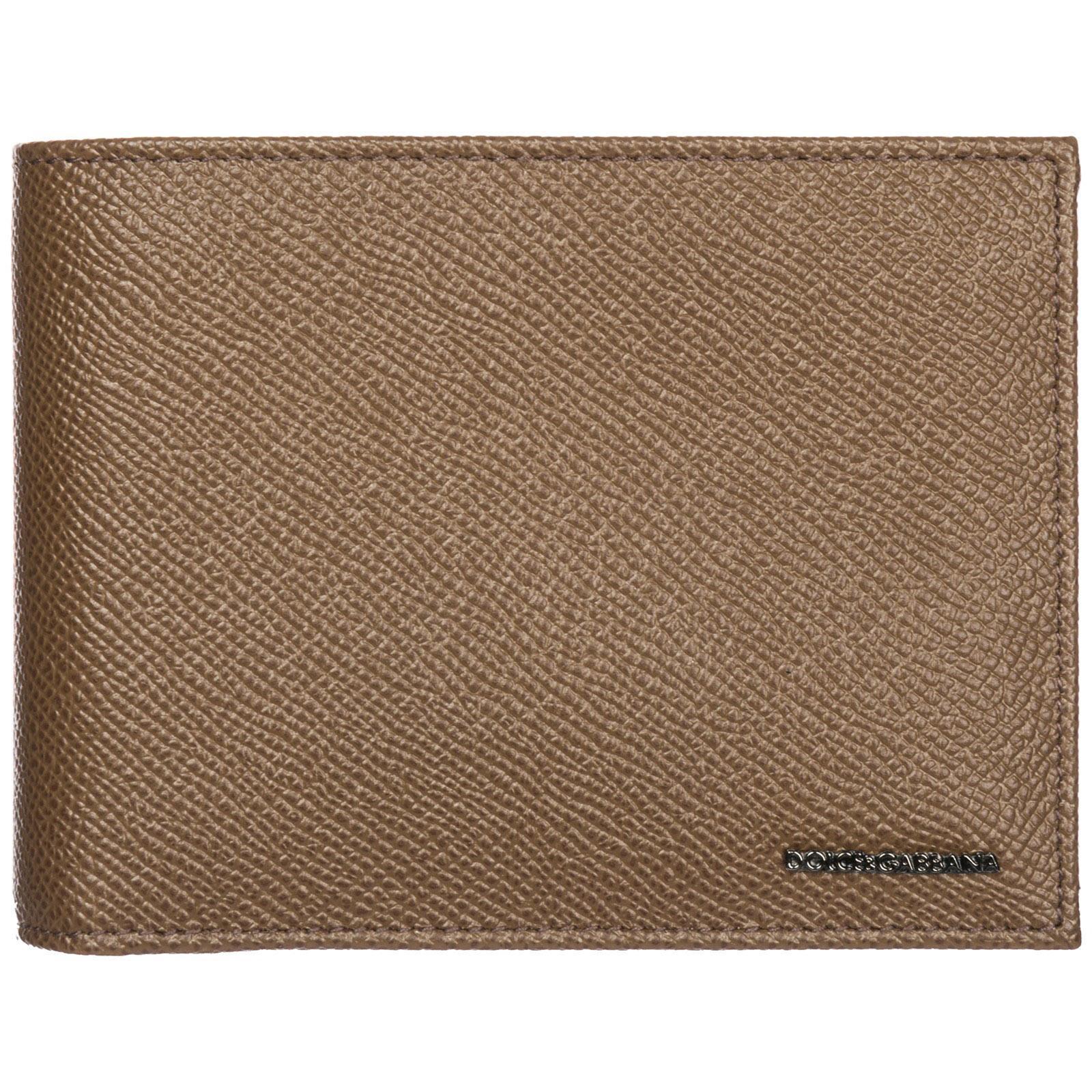b787c6023687 Men's Brown Bifold Logo Wallet
