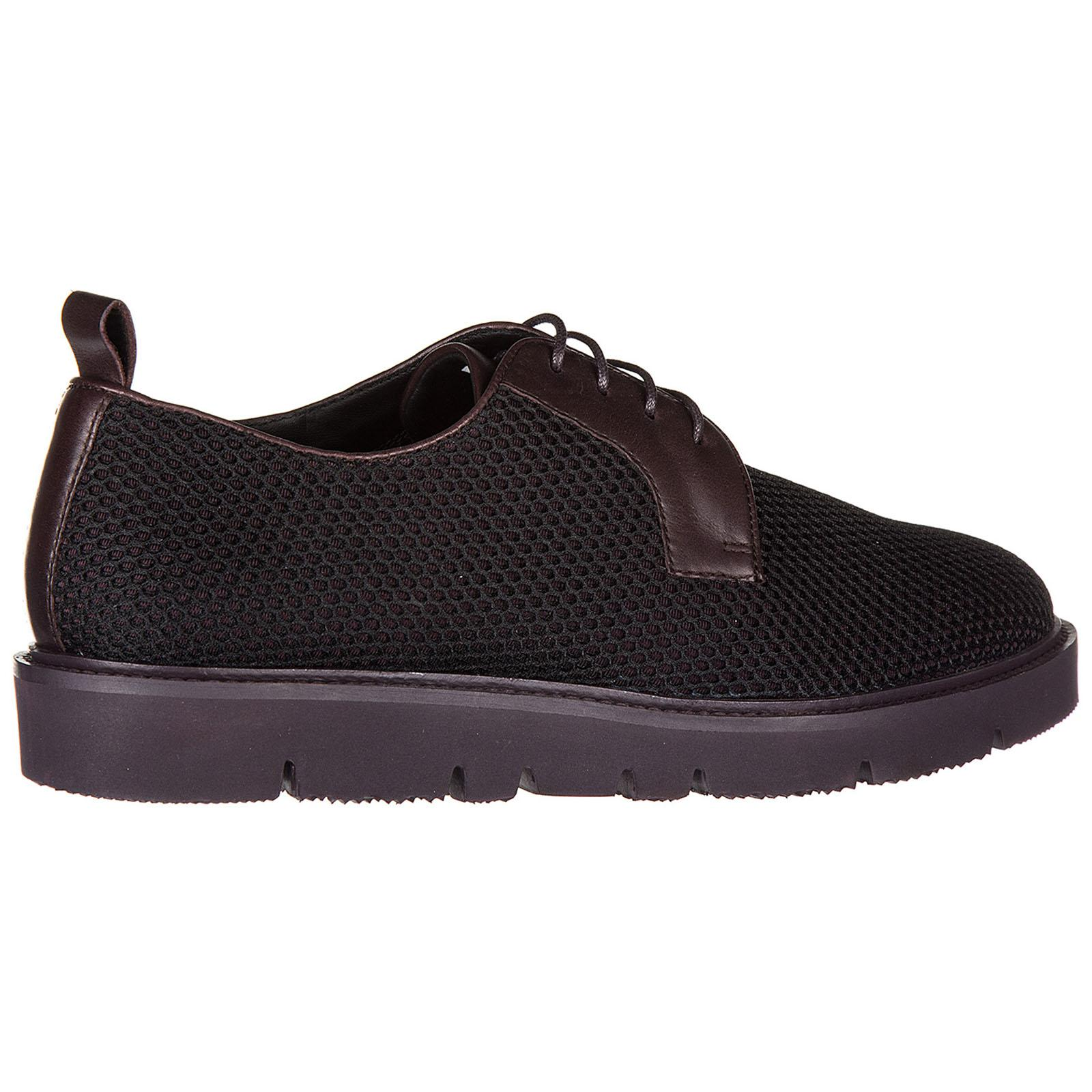 f009b701485d Armani Jeans Classic Lace Up Laced Formal Shoes Derby for Men - Lyst