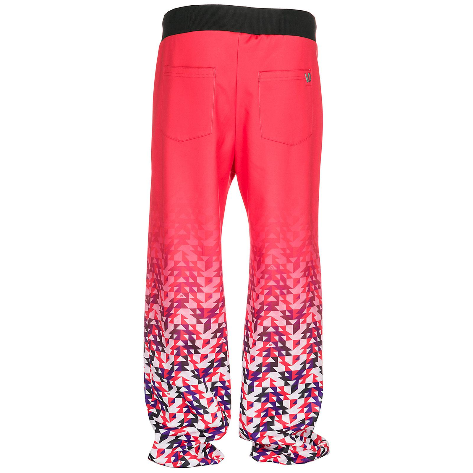 Versace Jeans Couture Synthetic Men's Sport Tracksuit Trousers in Red for Men