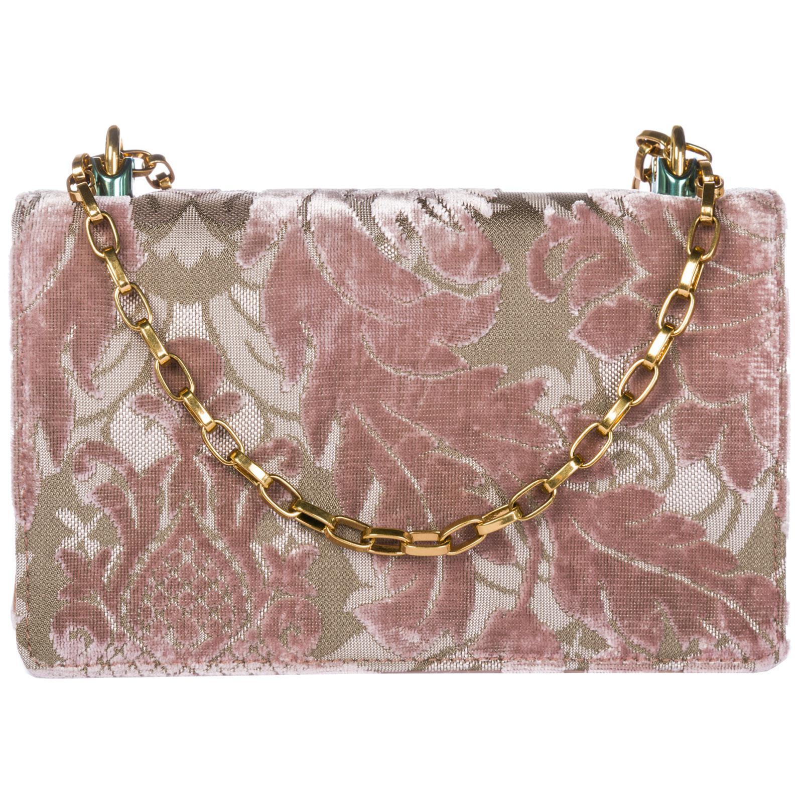 d42d8d90475a Dolce   Gabbana - Pink Leather Cross-body Messenger Shoulder Bag Dg Girls -  Lyst. View fullscreen