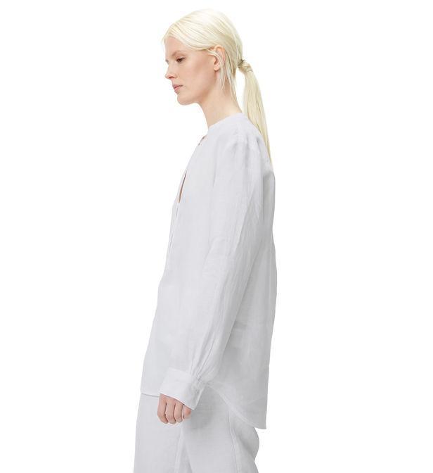 Blouse droite en lin Marc O'polo en coloris Blanc