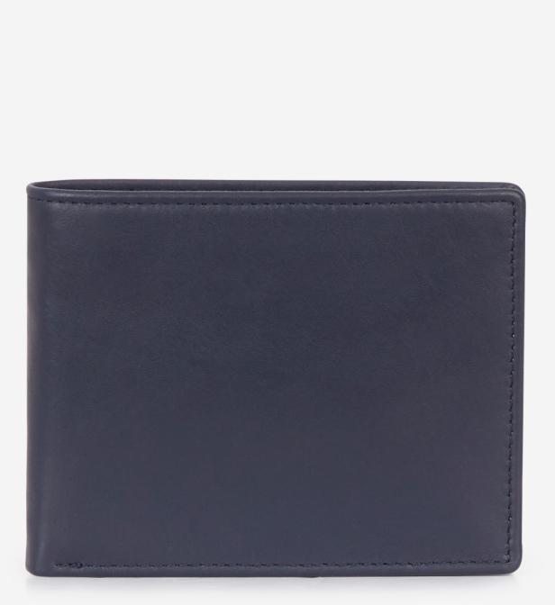 sélection premium 6e993 15744 Portefeuille Jack en cuir homme de coloris bleu