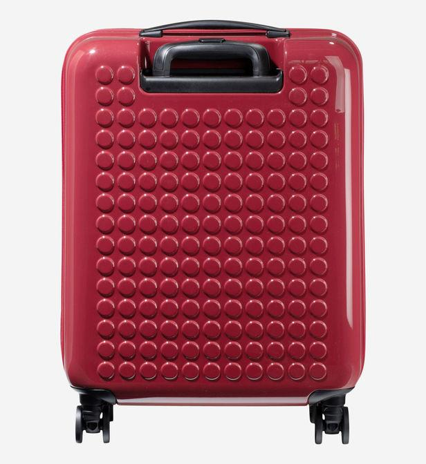 Valise cabine rigide New Chapter 2 4R 55 cm Dot Drops en coloris Rouge