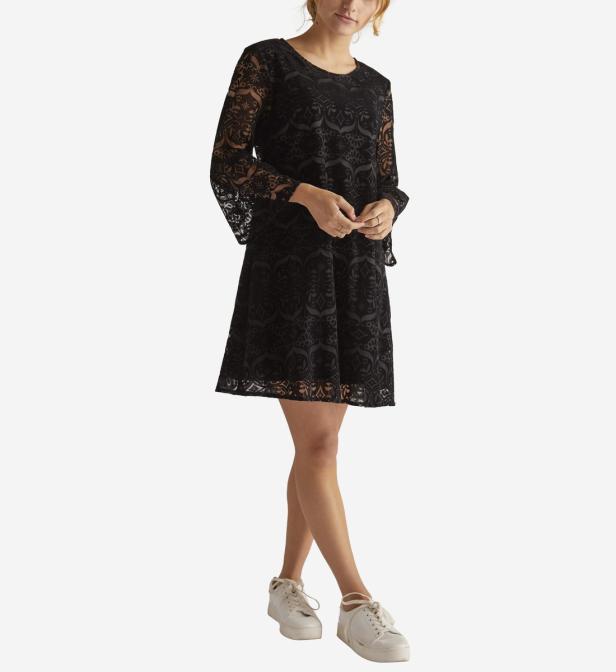 Dalmatien Rene' Robe Noir En Lyst Derhy Coloris 04HnBq