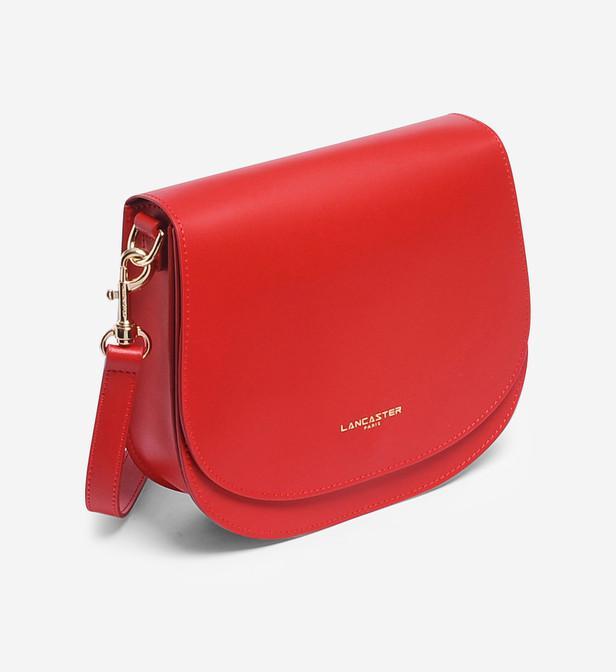 Sac besace Camélia Lancaster en coloris Red