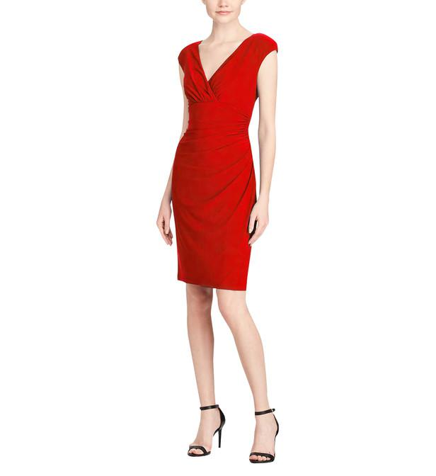 79c2fb8ed5 Ralph En Rouge Lauren By Robe Coloris Lyst Adarcap 8Iqf8g