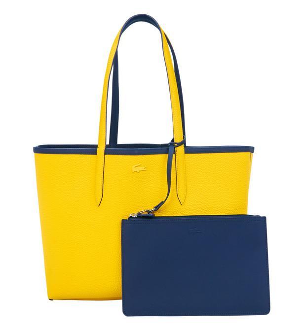 0ac6259fec Lyst Bleu en Anna shopping Lacoste coloris Sac réversible rSCqHn0r