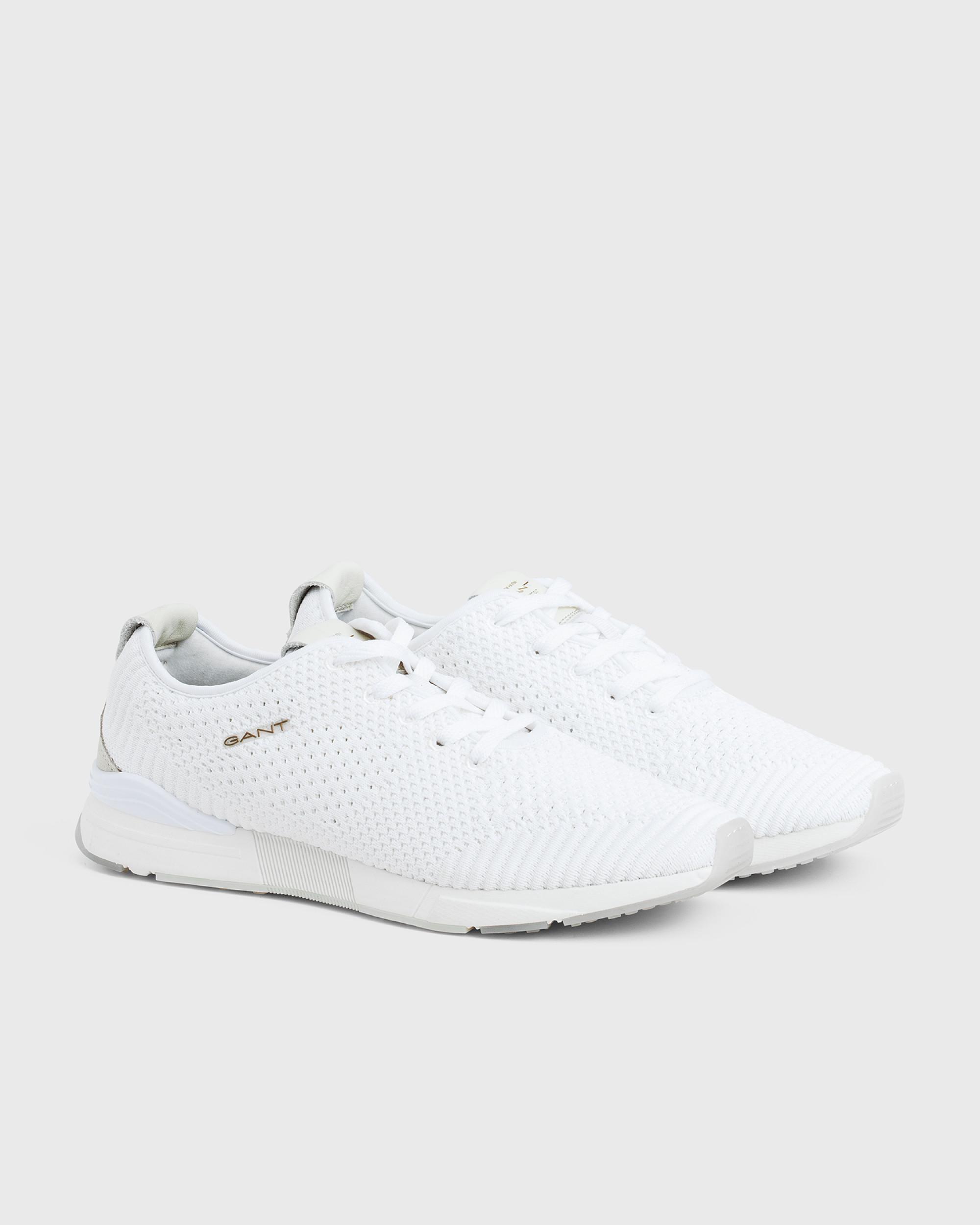 GANT Cotton Atlanta Sneaker in White