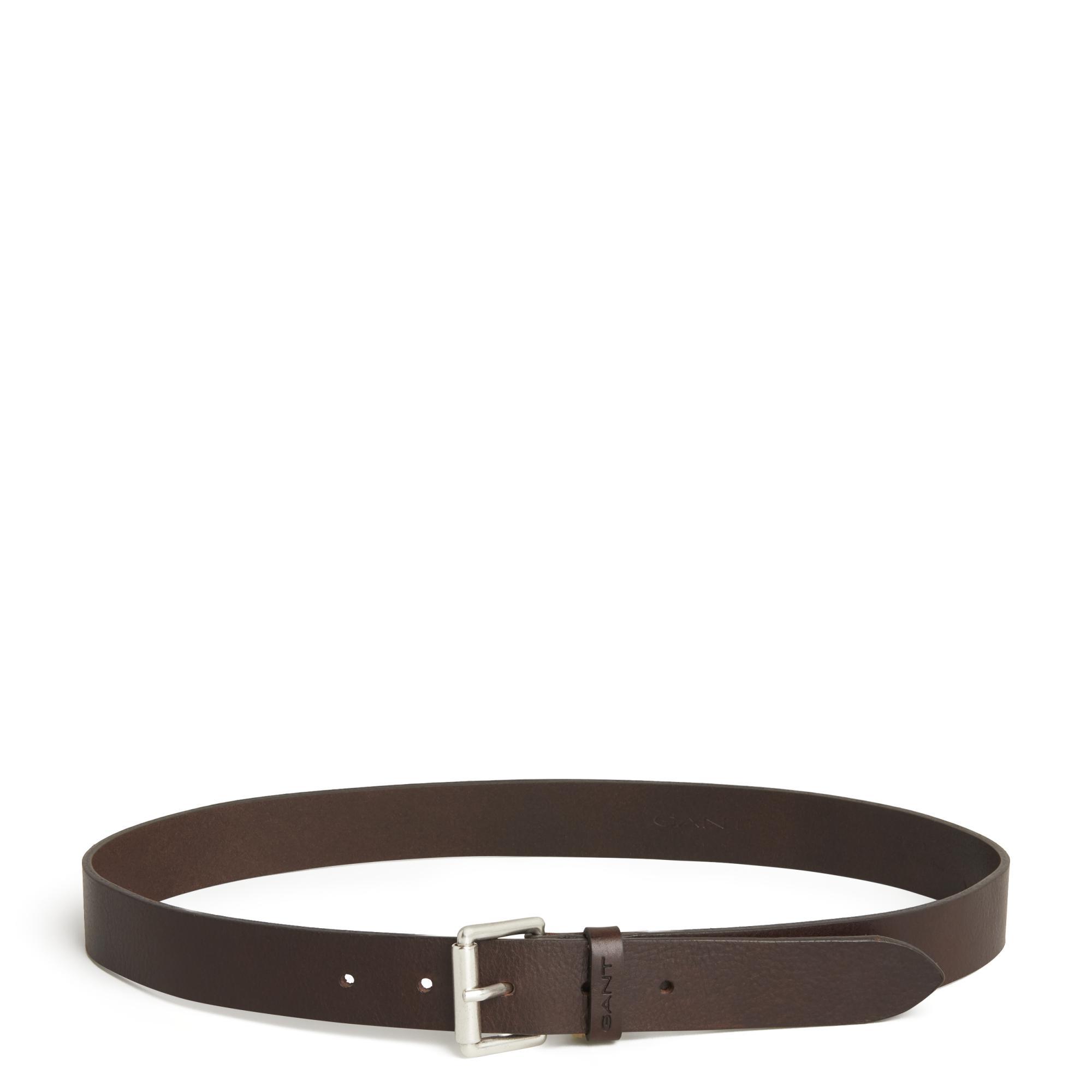 4632ff29d6b Gant Brown Teen Boys Leather Jeans Belt for men