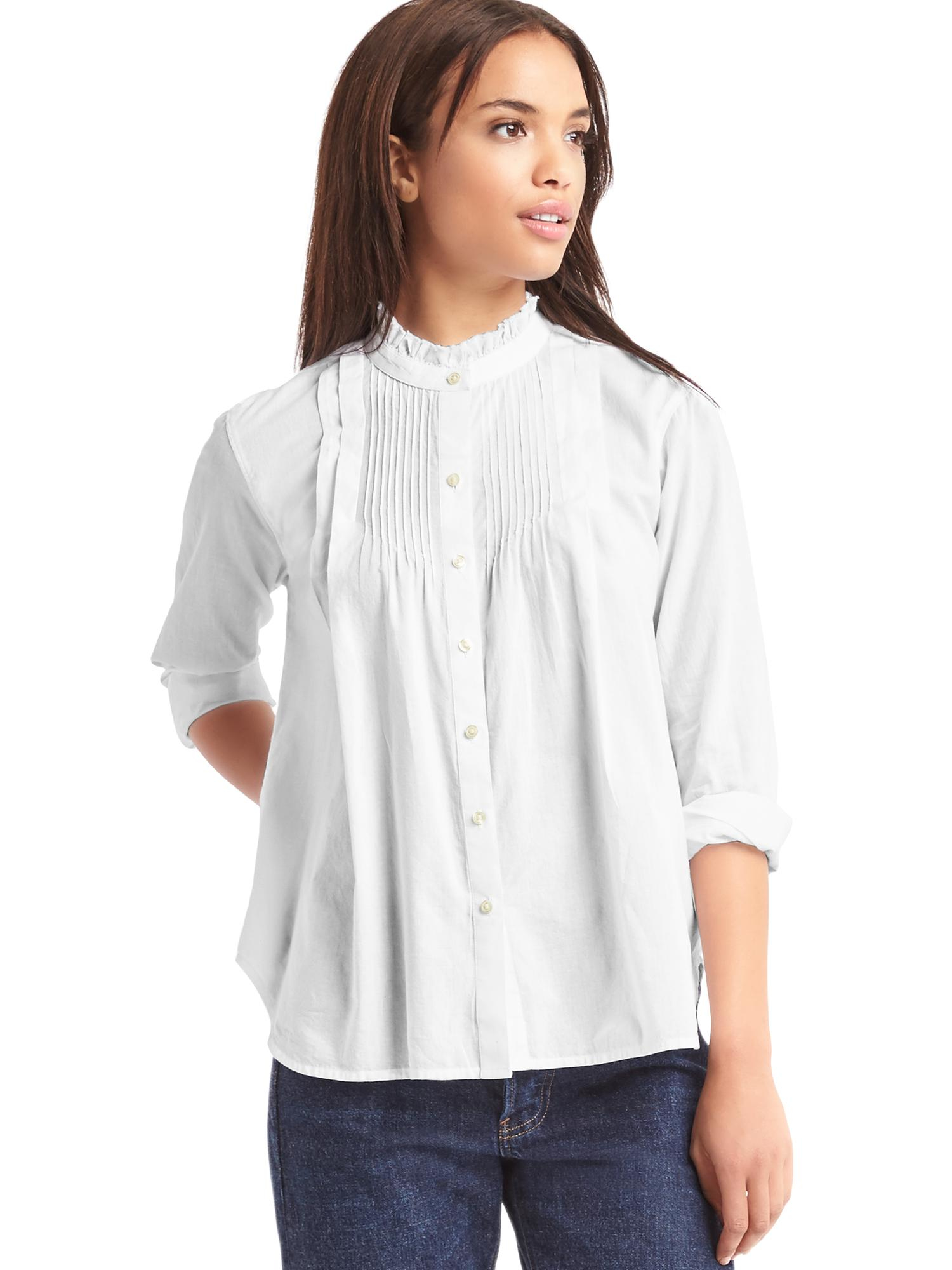 Buy the latest black ruffle shirt cheap shop fashion style with free shipping, and check out our daily updated new arrival black ruffle shirt at bonjournal.tk