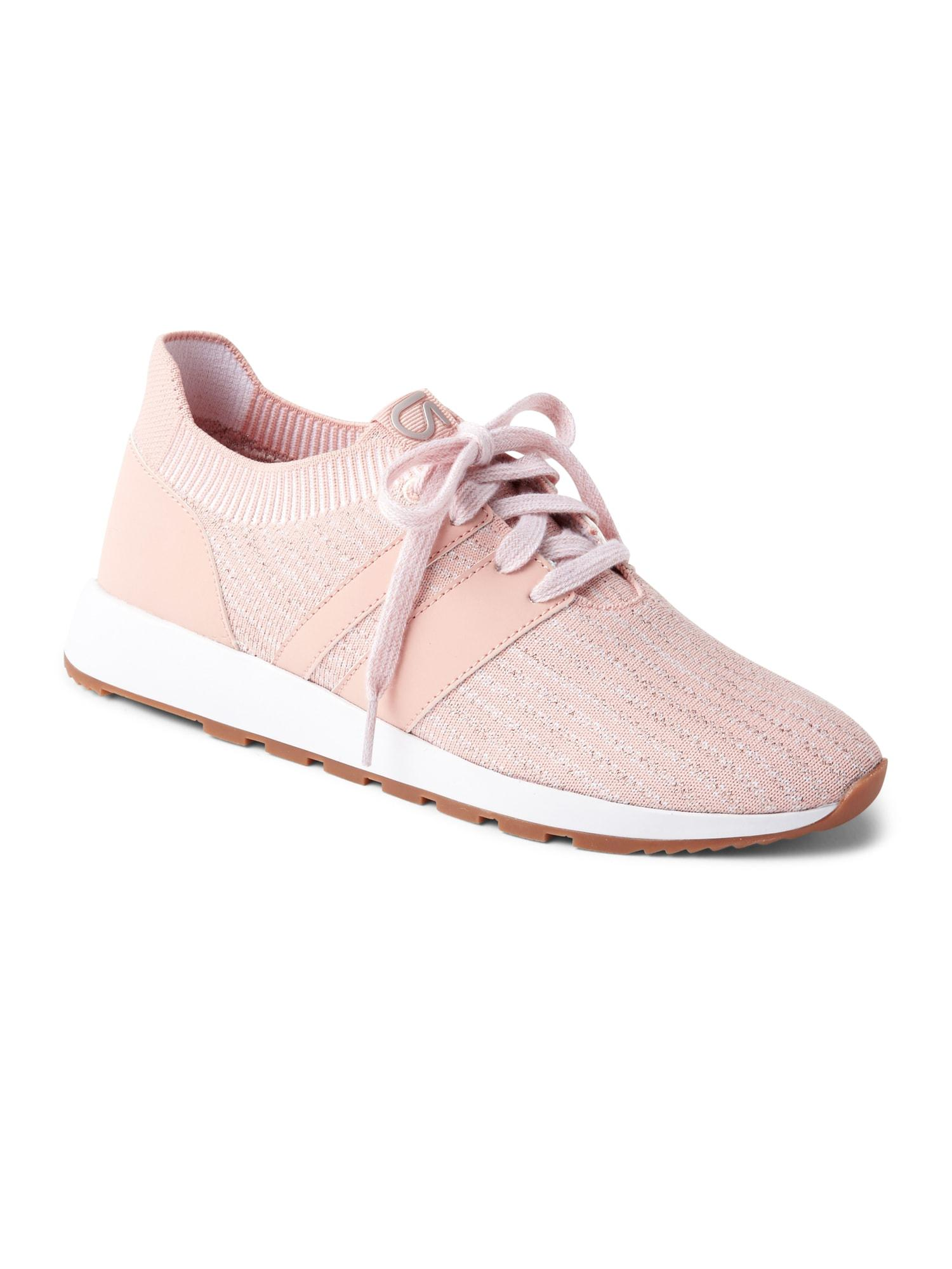 Gap Rubber Fit Knit Sneaker in Desert