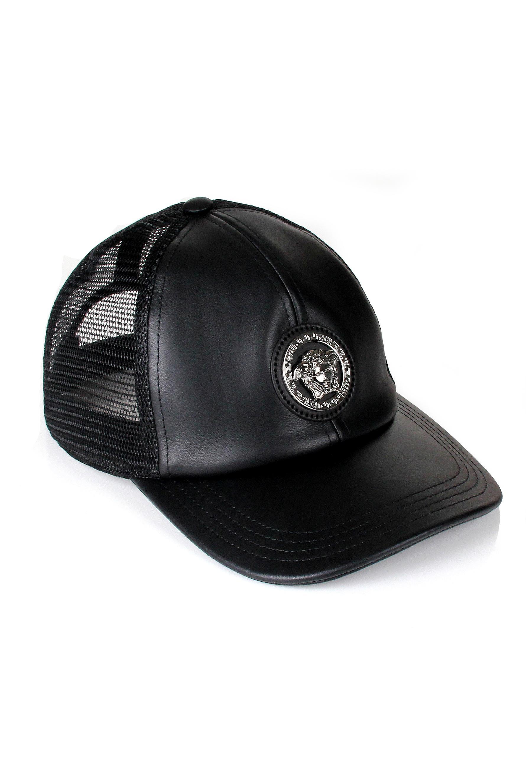 Lyst - Versace Medusa Trucker Cap Black in Black for Men 97d63dd39c7