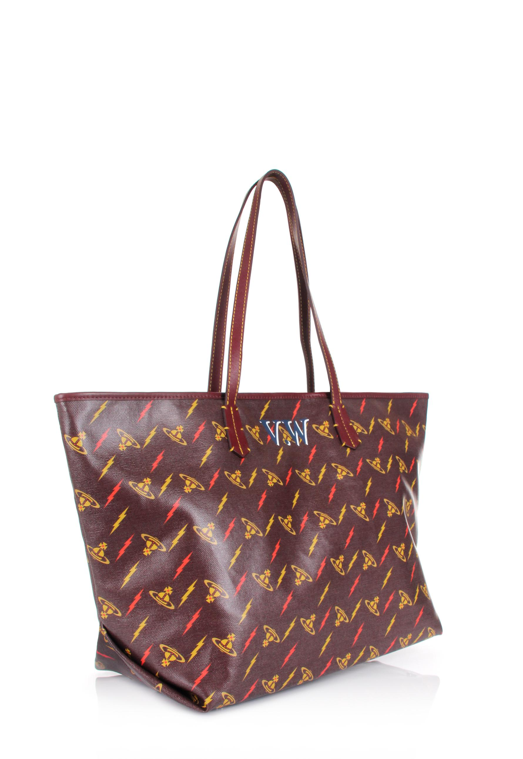 e040fb61cb Lyst - Vivienne Westwood Colette Small Shopper 41010017 Burgundy in Red