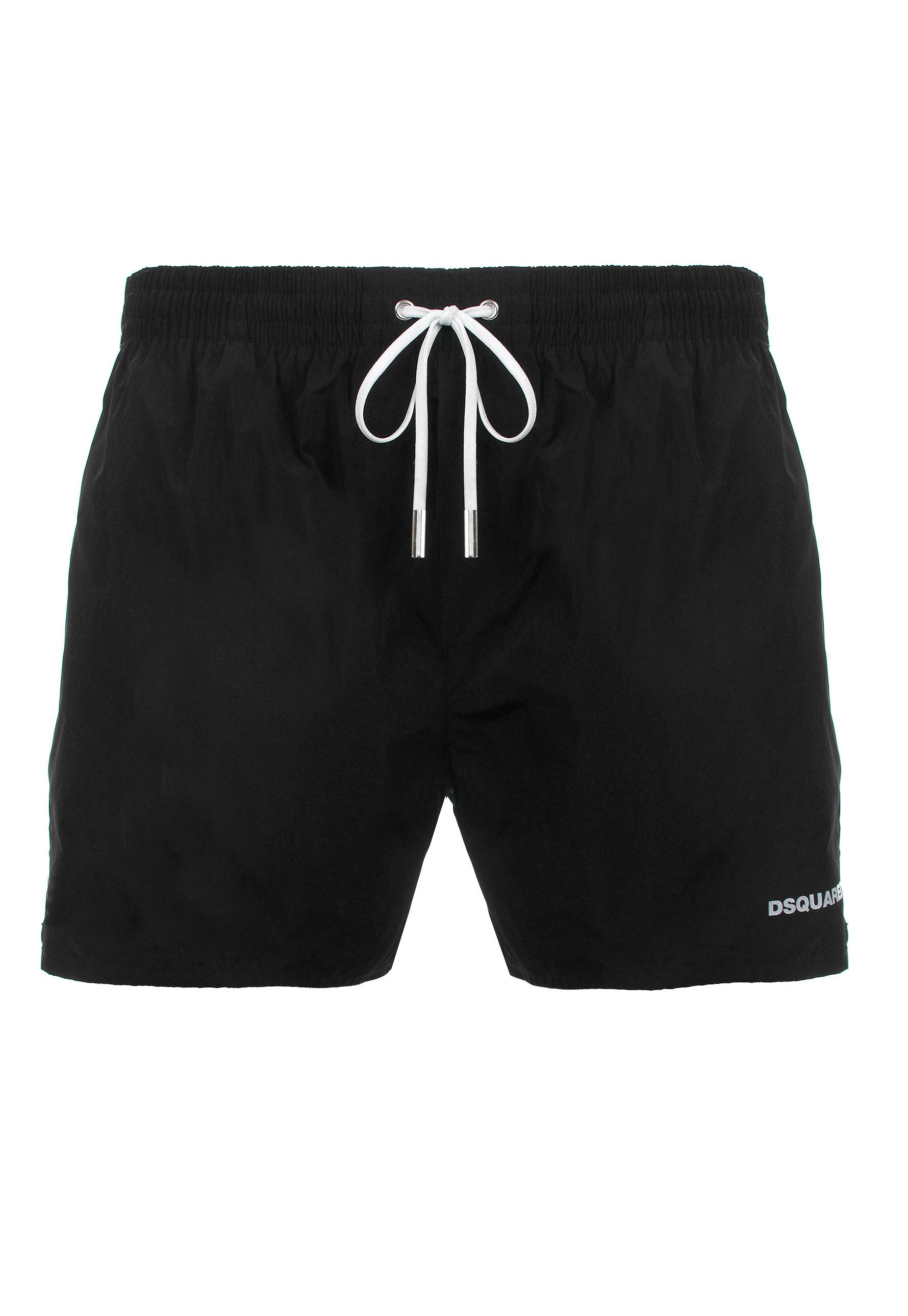 ICON print swimming trunks - Black Dsquared2 Clearance Cheap Real crPbSTwI