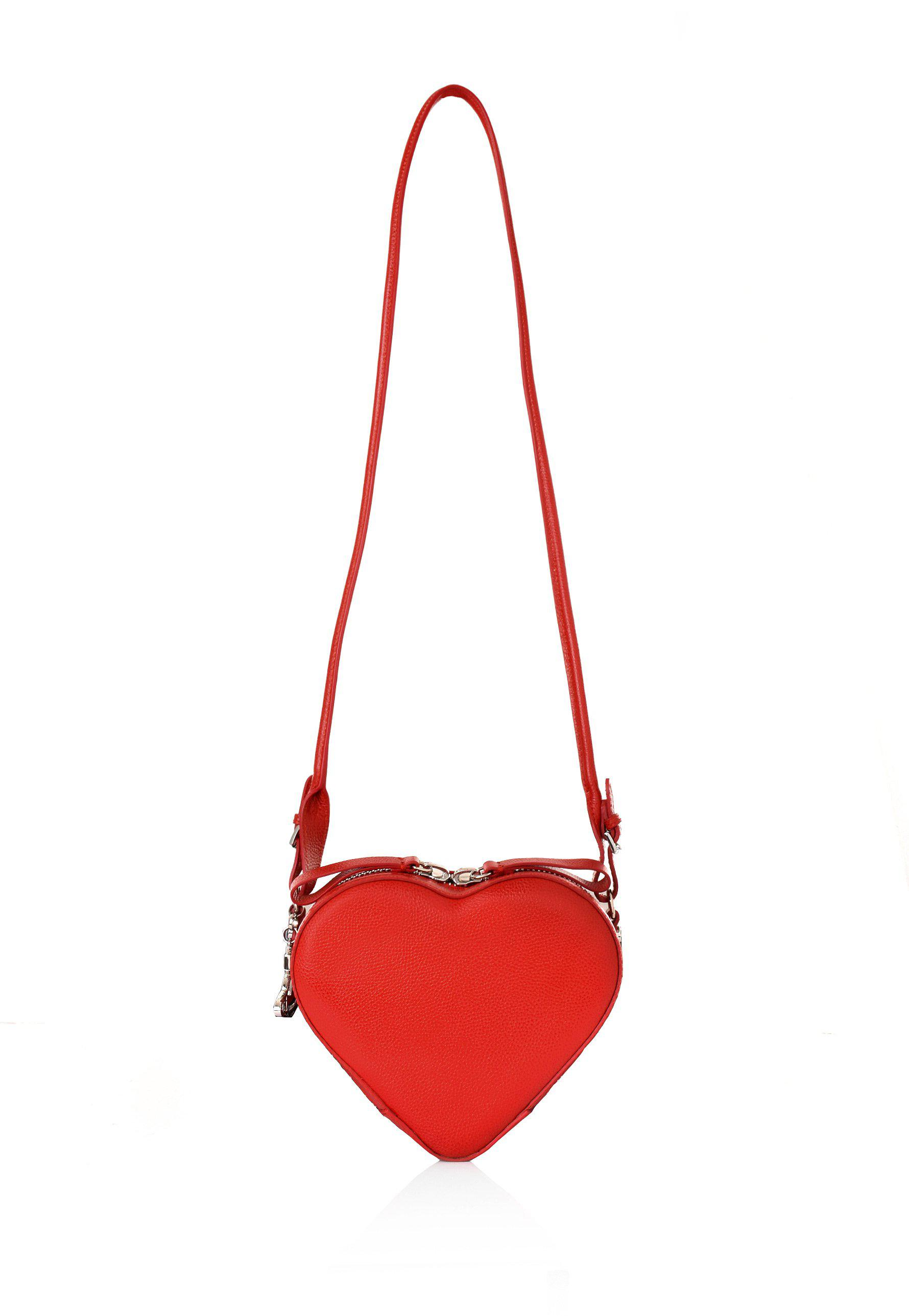 c163d544856 Vivienne Westwood Johanna Heart Crossbody Bag 42020028 Red in Red - Lyst
