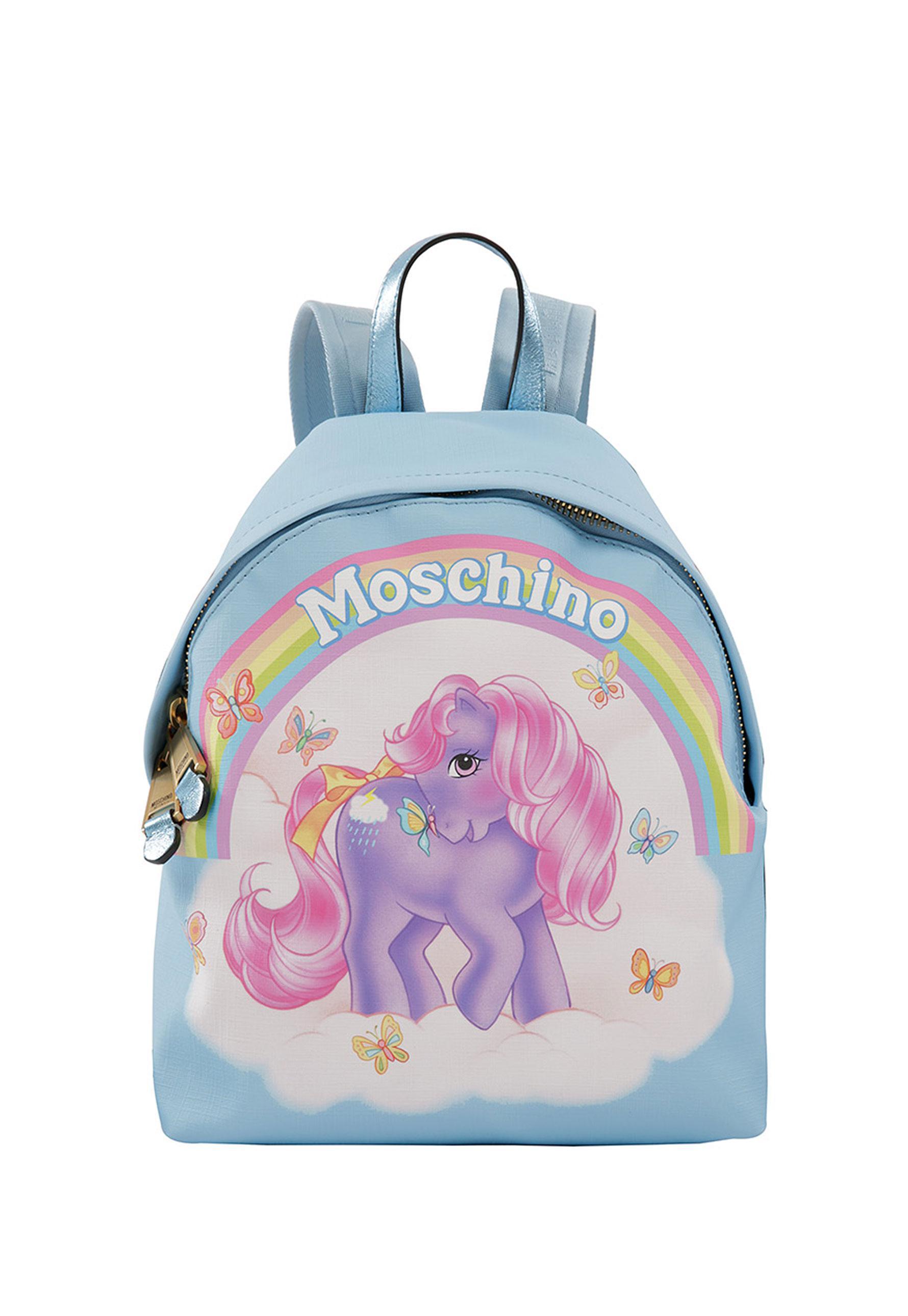 Moschino My Little Pony backpack - Pink & Purple 3zo93