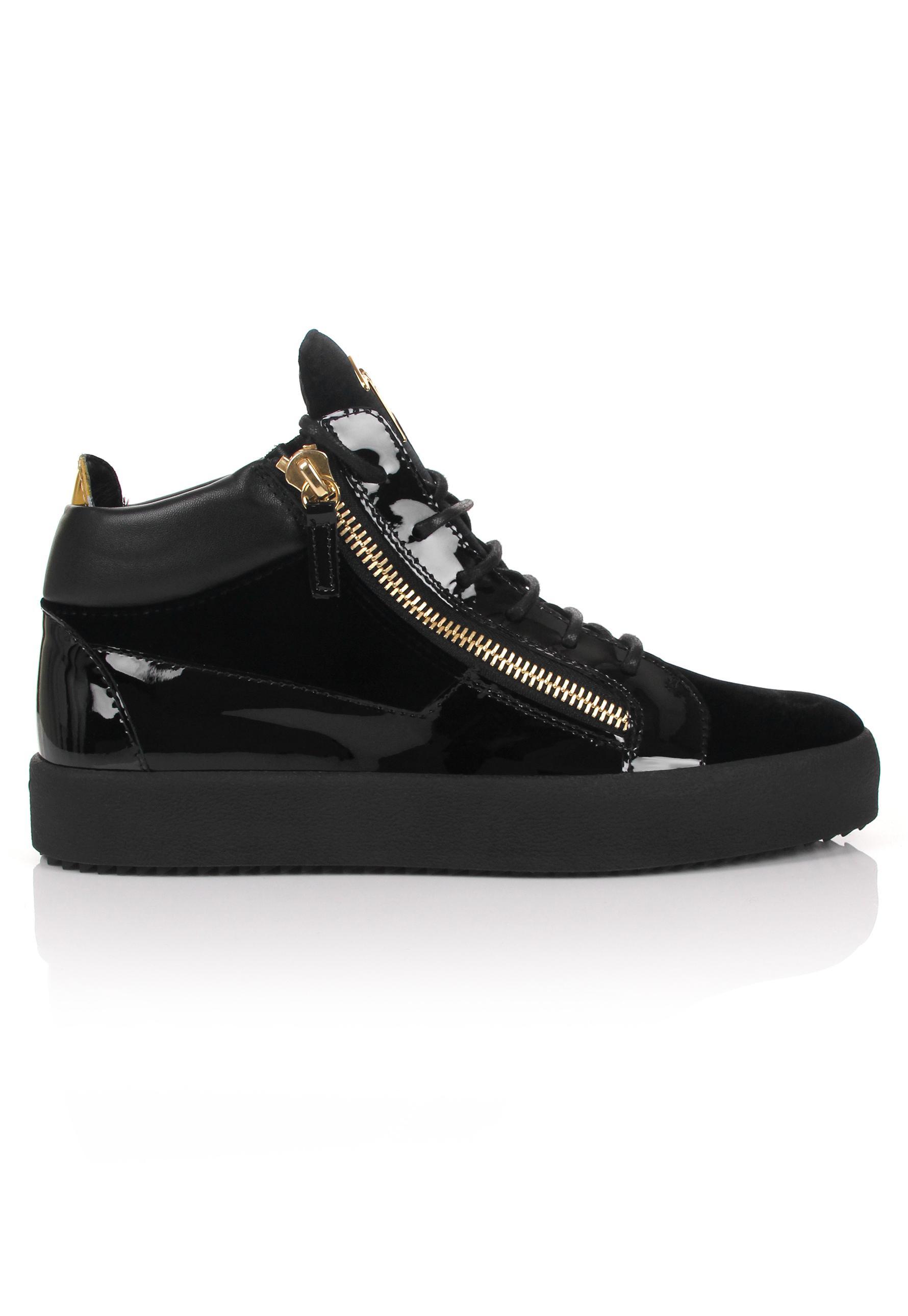 crocodile embossed Kriss sneakers - Black Giuseppe Zanotti rxvwKMQb