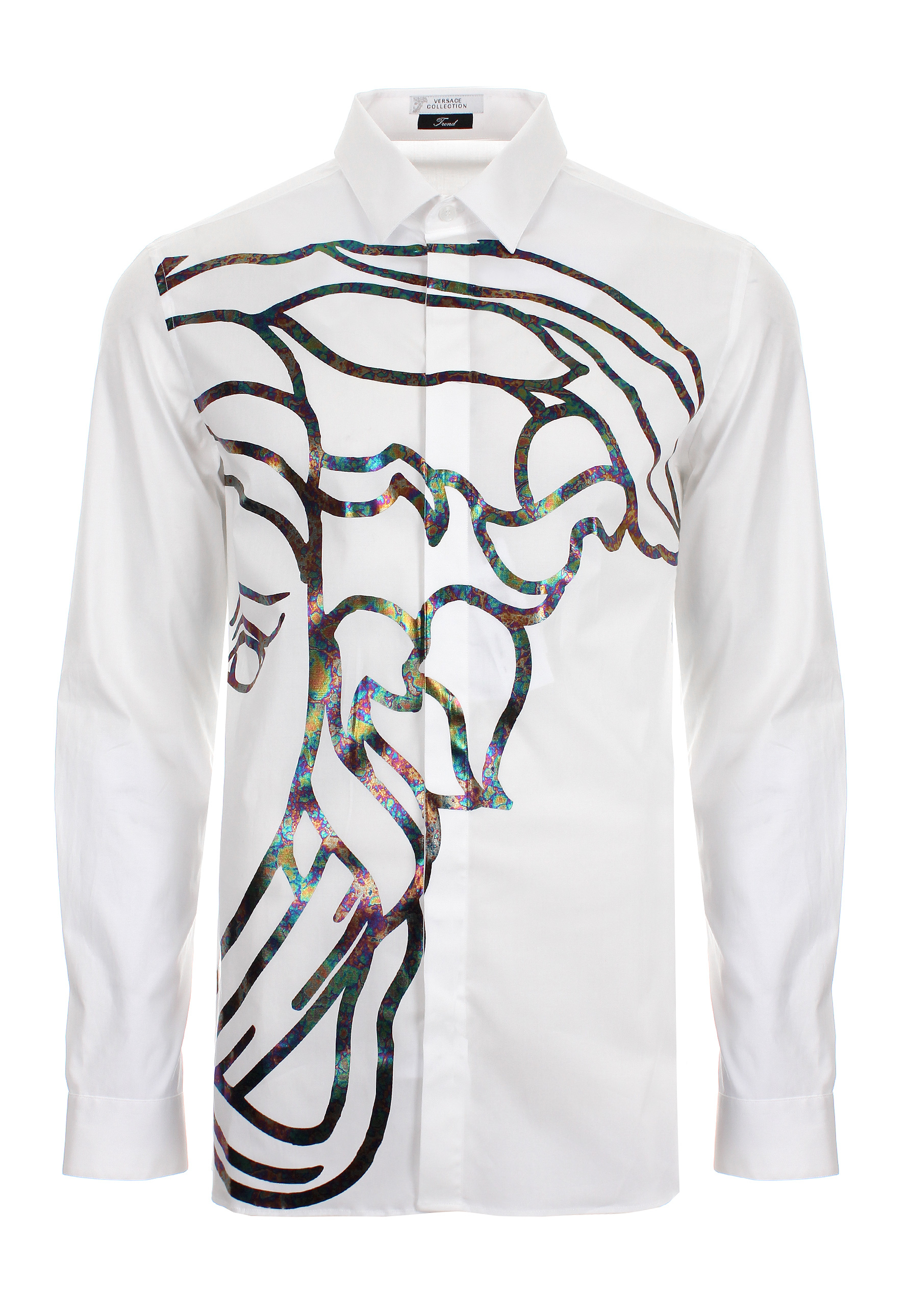Versace Collection Caviar Medusa T Shirt White - J9531